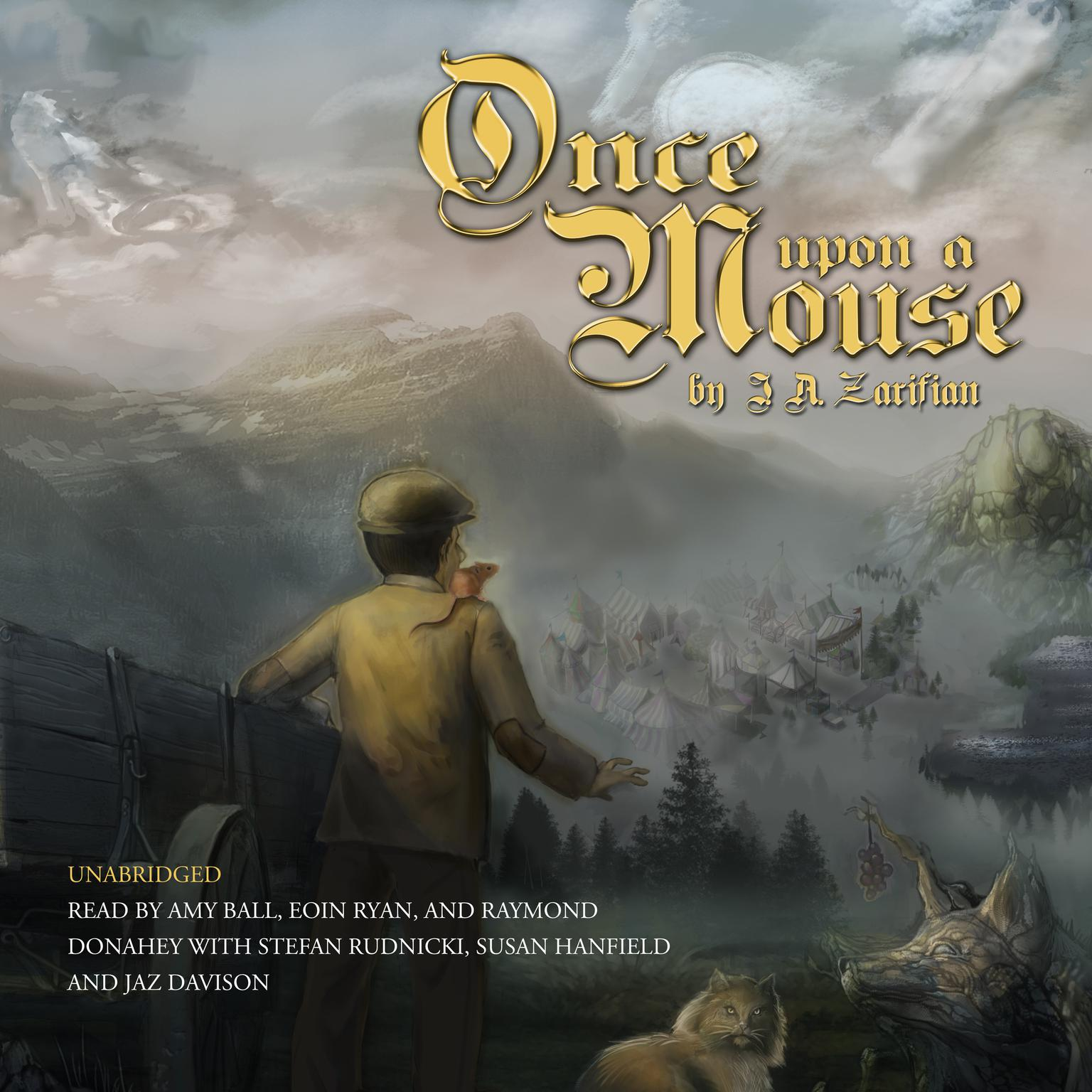 Printable Once Upon a Mouse Audiobook Cover Art