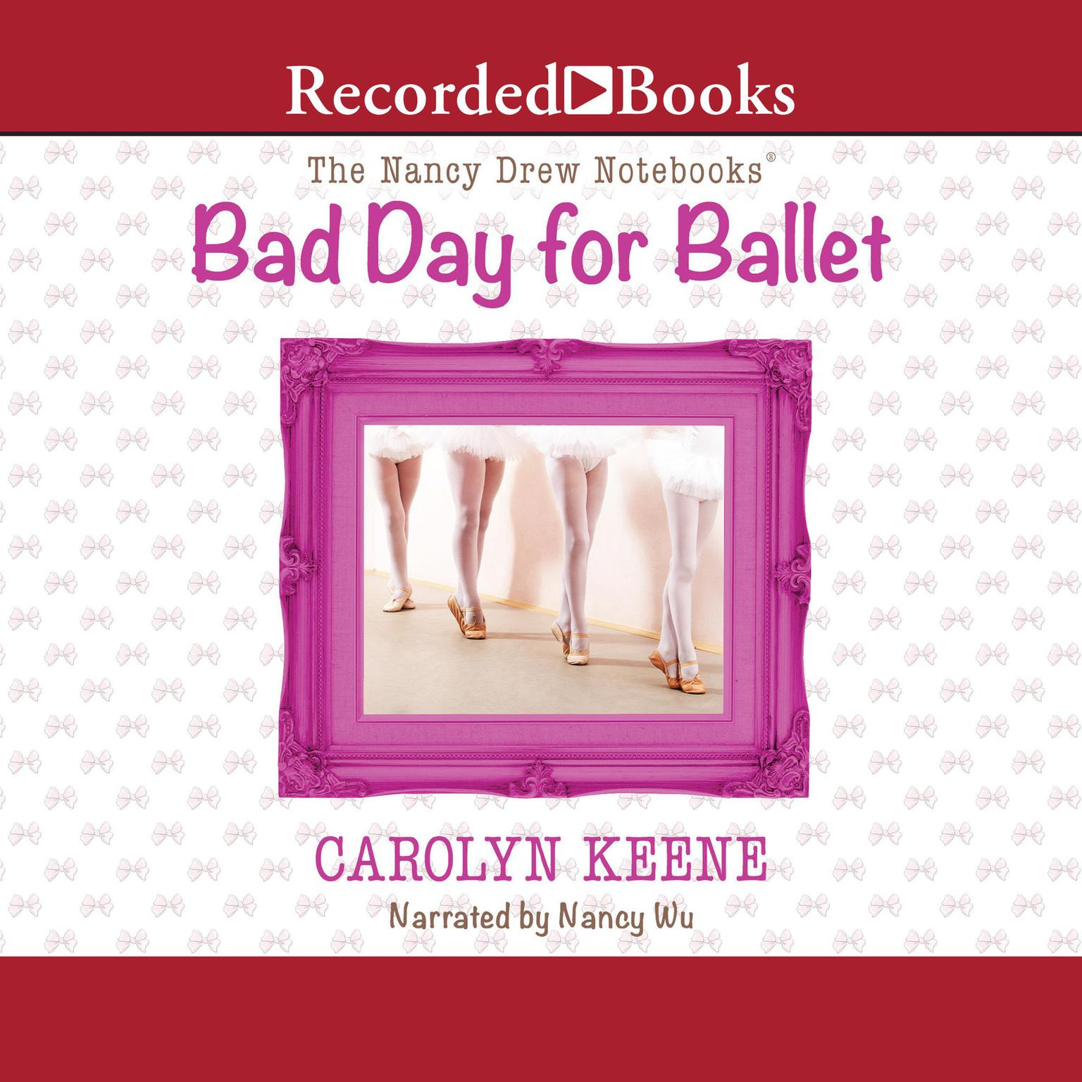 Printable Bad Day for Ballet Audiobook Cover Art