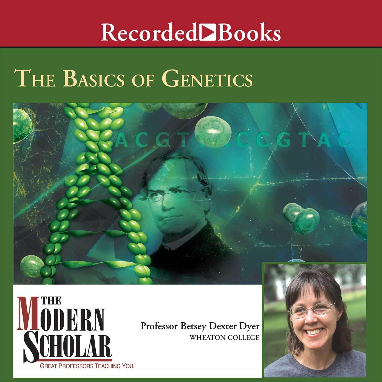 Printable The Basics of Genetics Audiobook Cover Art