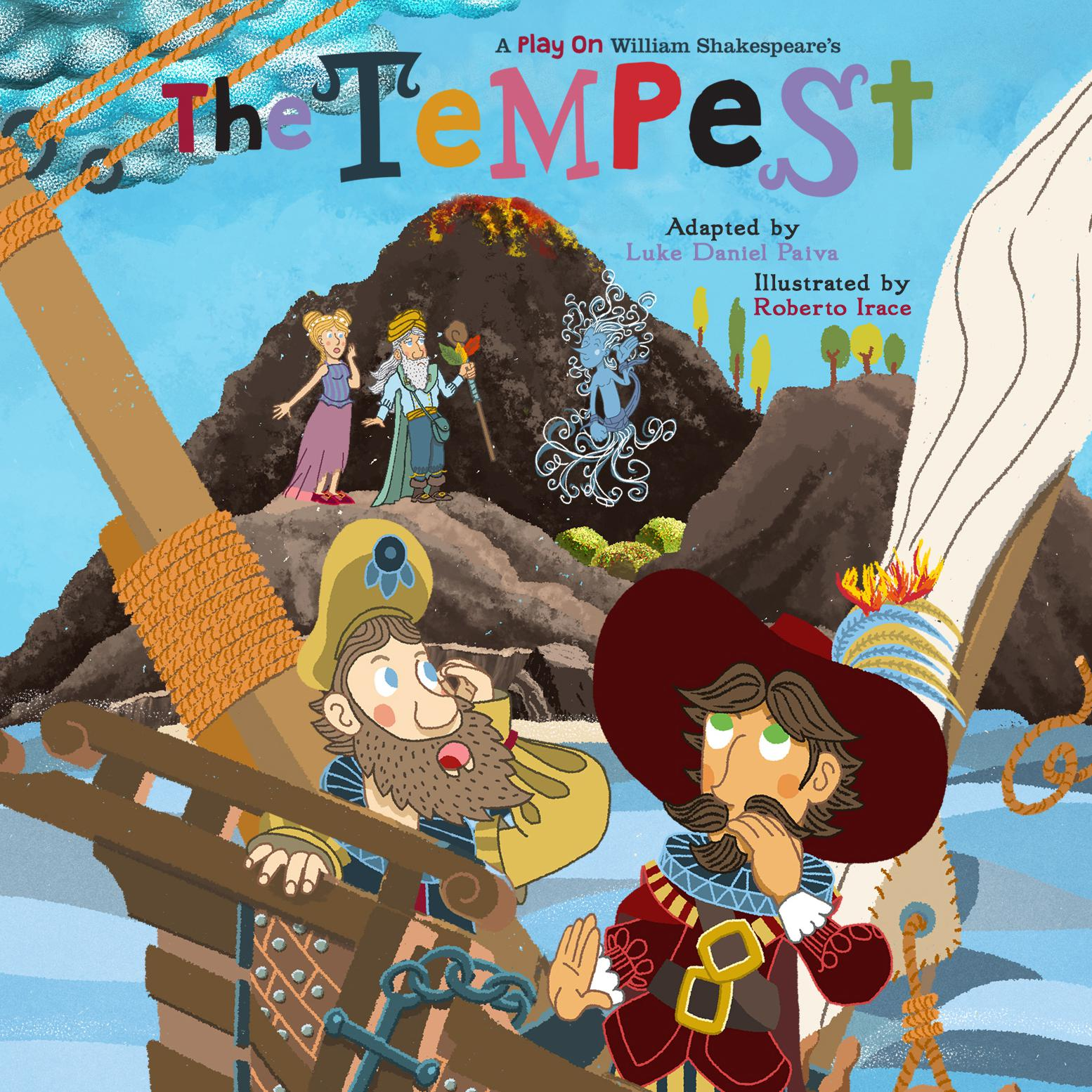 Printable The Tempest: A Play on Shakespeare Audiobook Cover Art