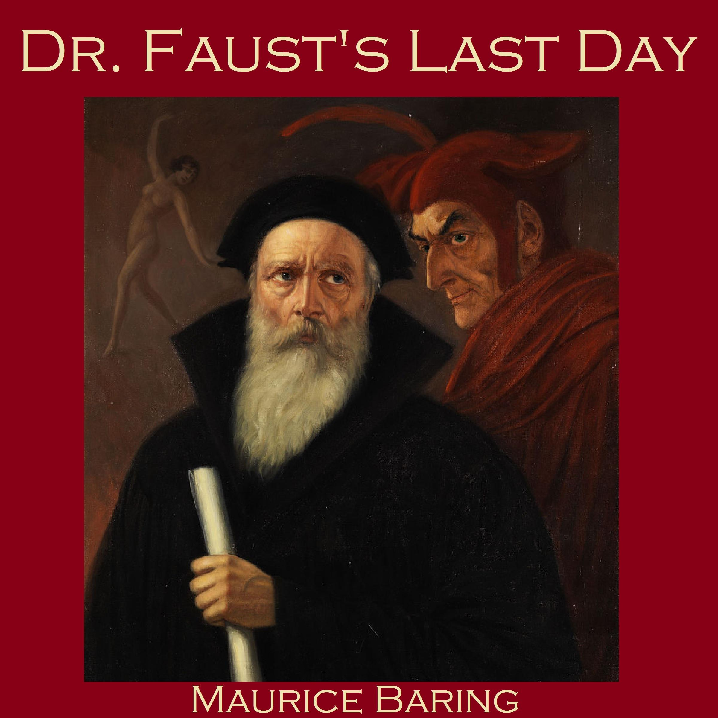 Printable Dr. Faust's Last Day Audiobook Cover Art