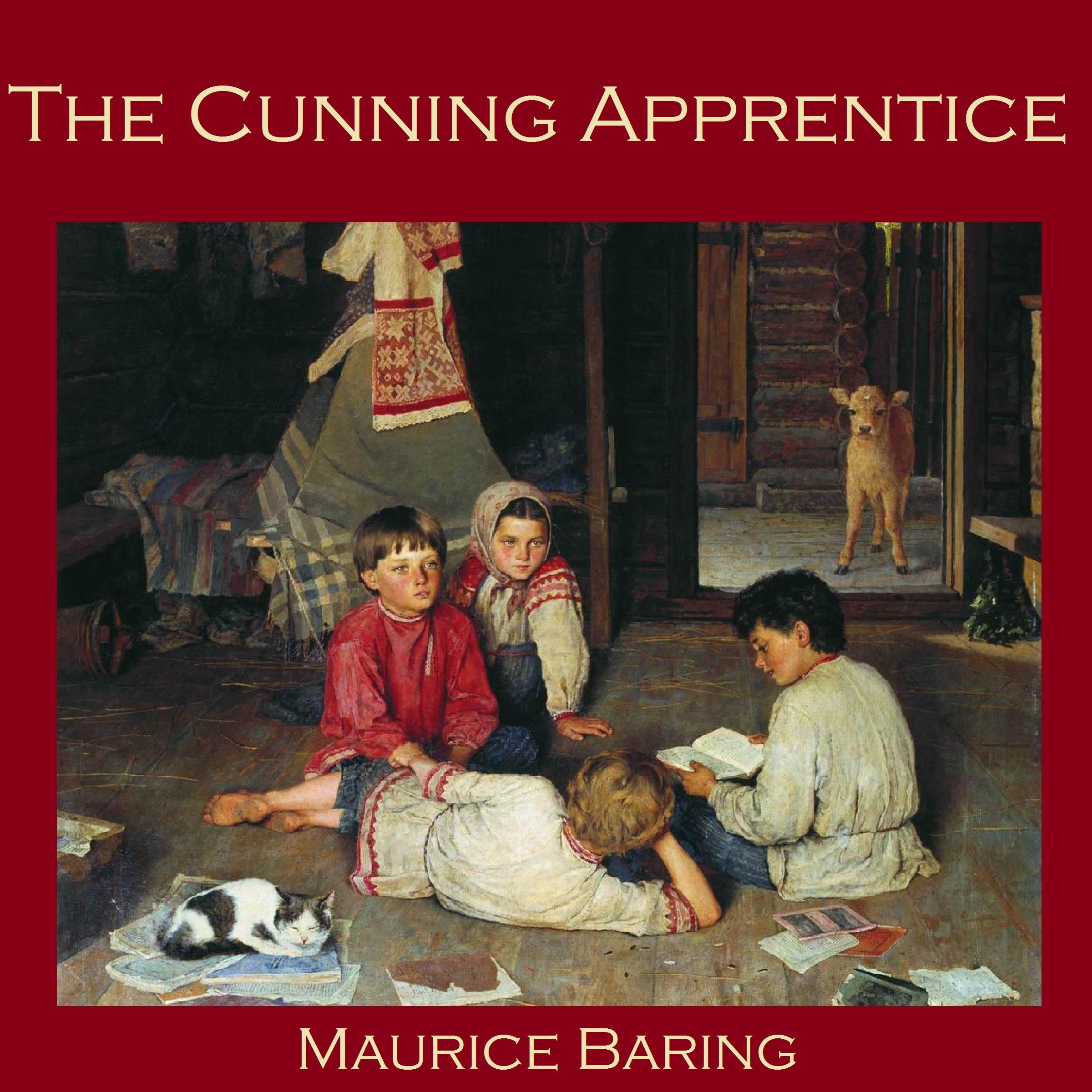 Printable The Cunning Apprentice Audiobook Cover Art