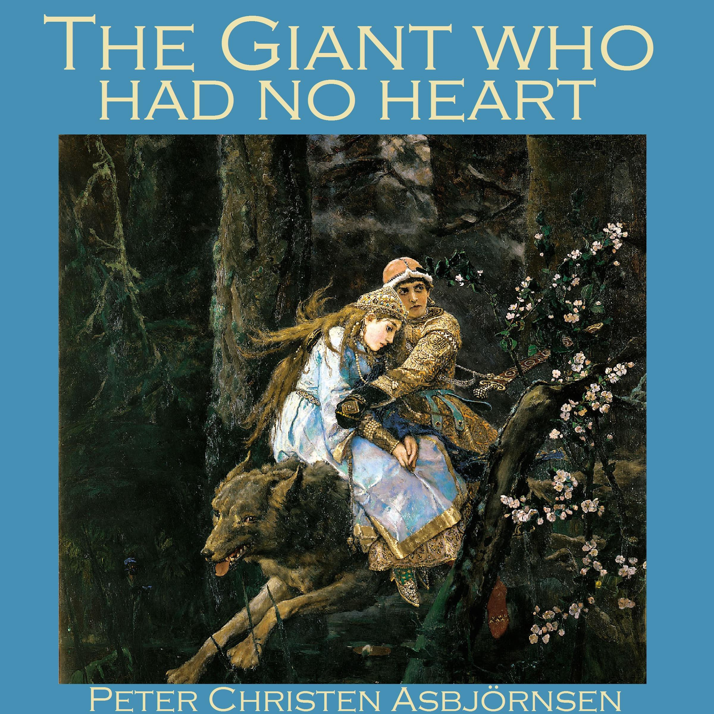 Printable The Giant who had no Heart Audiobook Cover Art