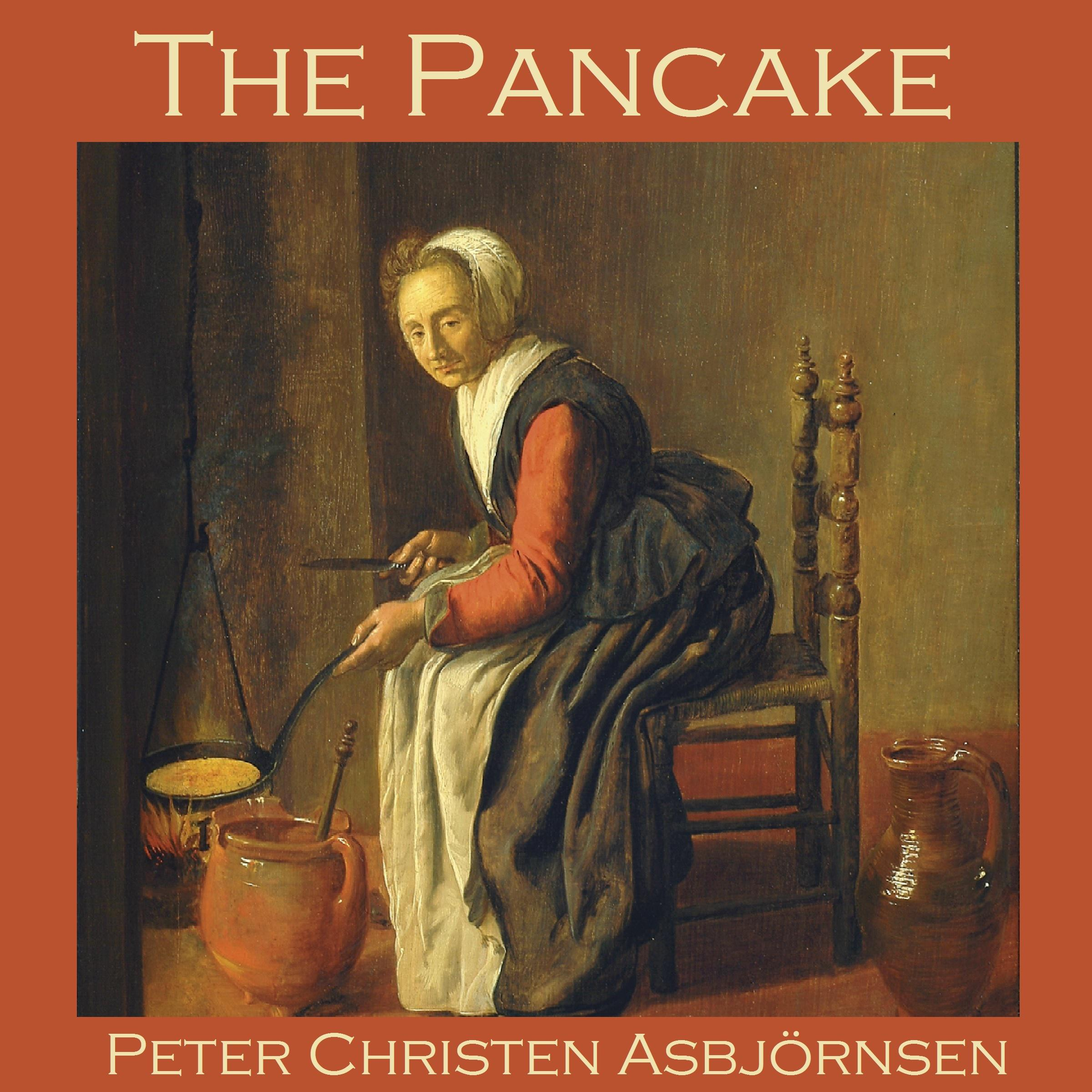 Printable The Pancake Audiobook Cover Art