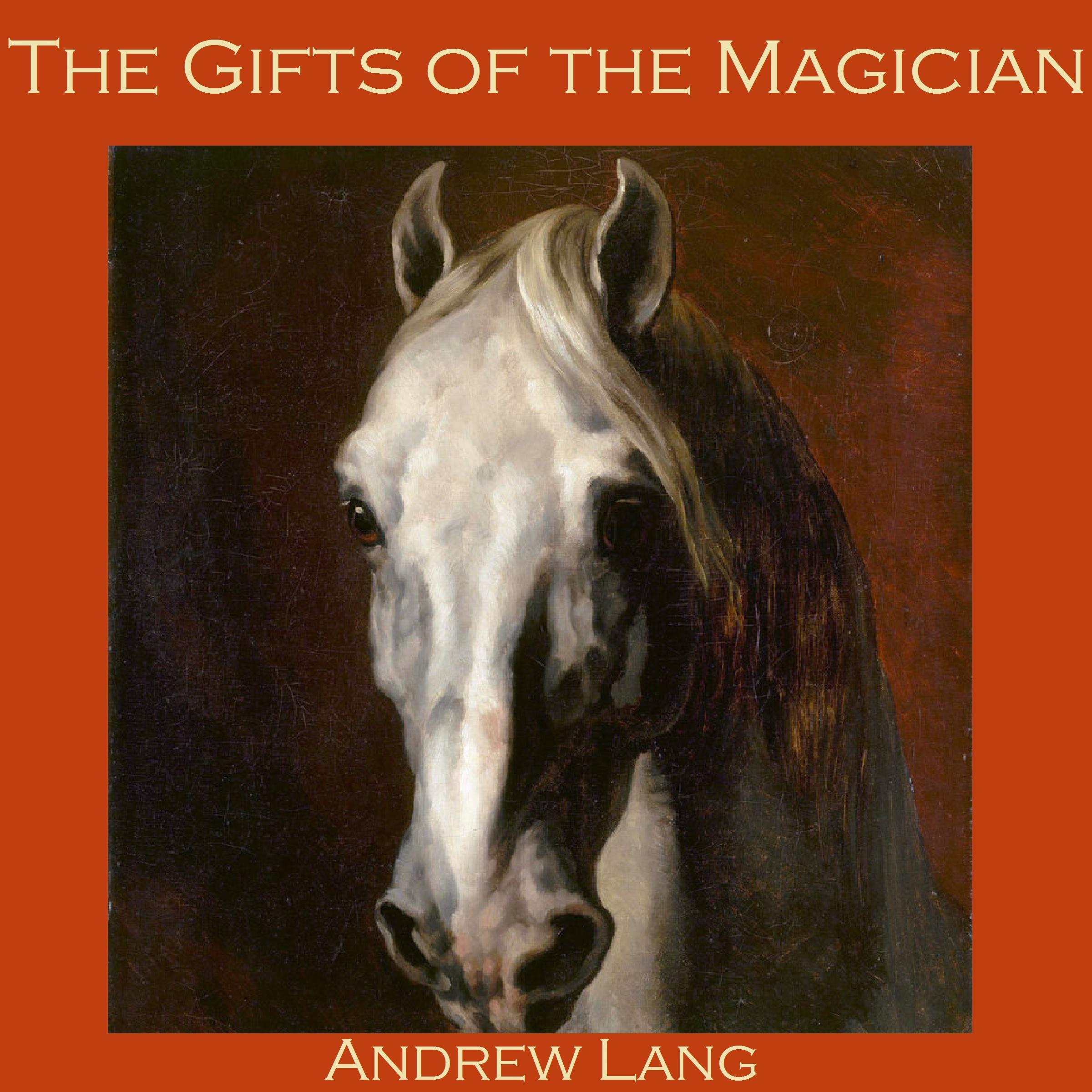 Printable The Gifts of the Magician Audiobook Cover Art