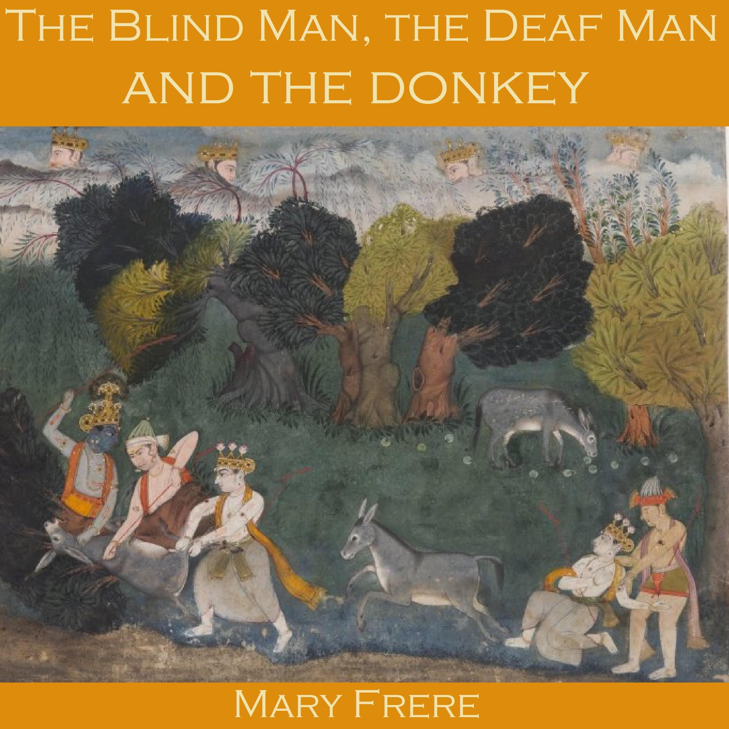 Printable The Blind Man, the Deaf Man and the Donkey Audiobook Cover Art