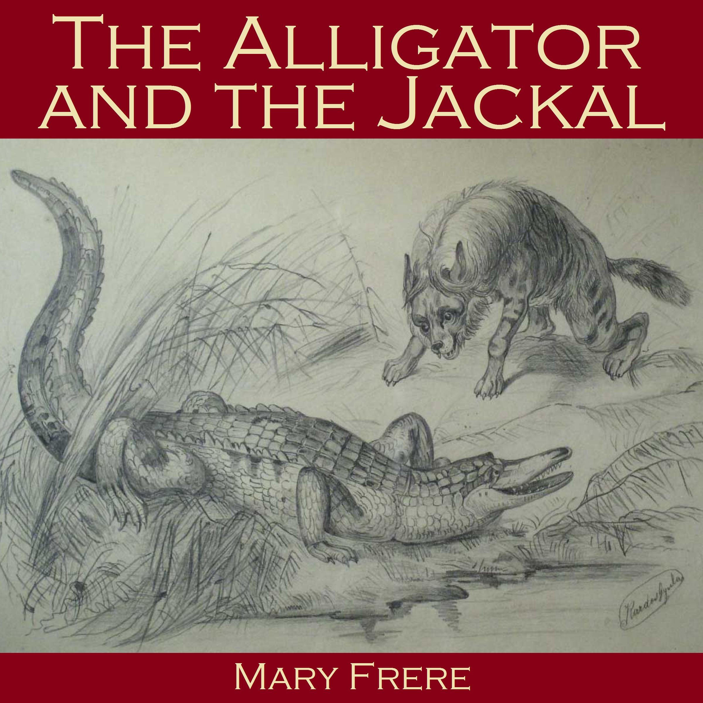Printable The Alligator and the Jackal Audiobook Cover Art