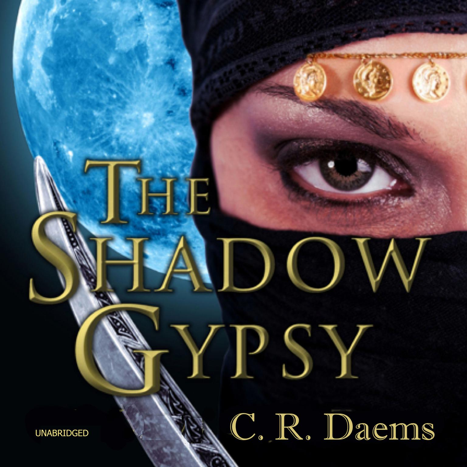 Printable The Shadow Gypsy Audiobook Cover Art