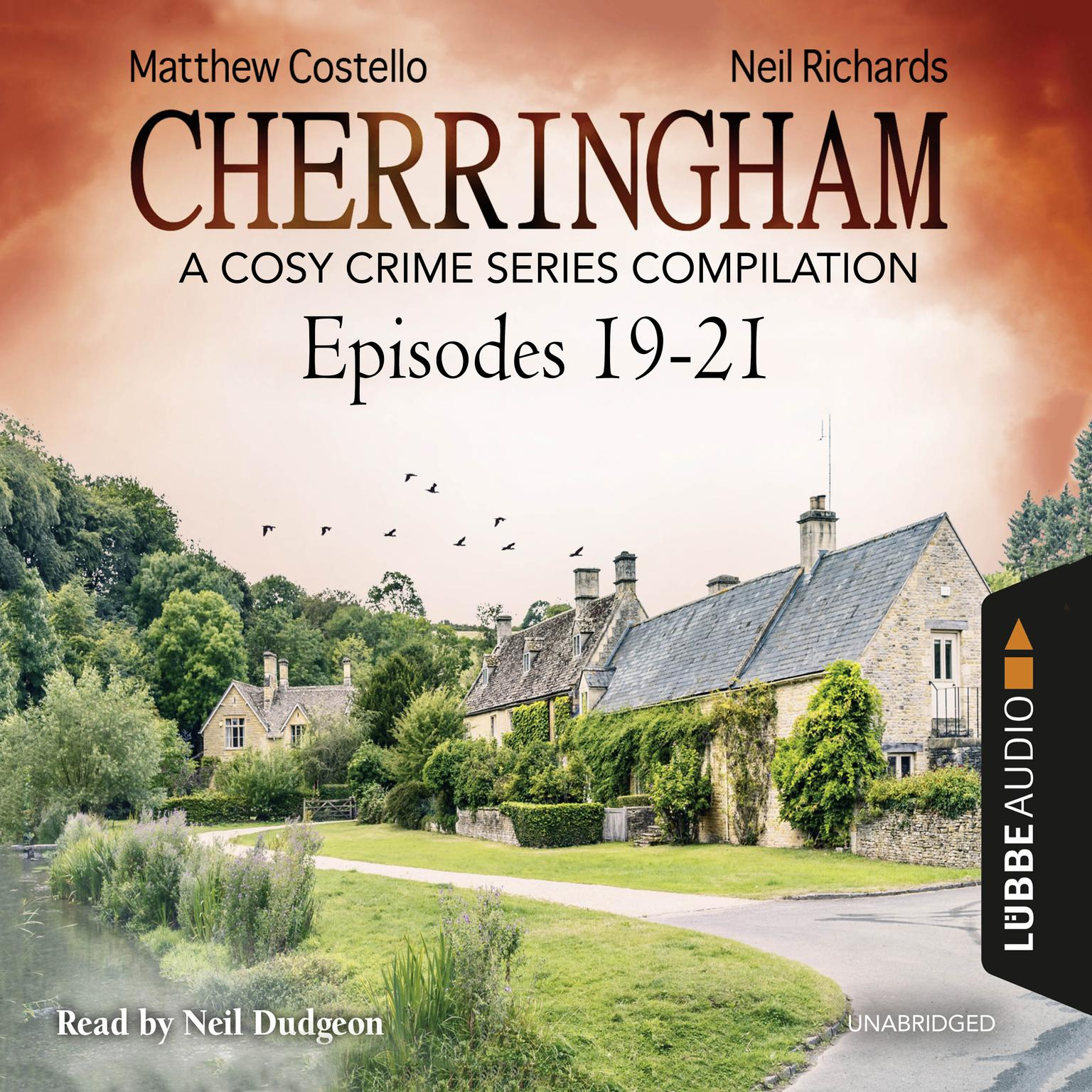 Printable Cherringham, Episodes 19–21: A Cosy Crime Series Compilation Audiobook Cover Art