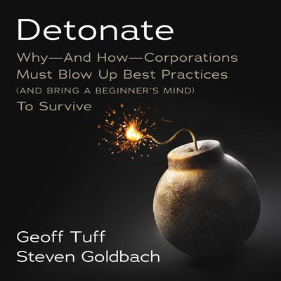 Detonate: Why - And How - Corporations Must Blow Up Best Practices (and bring a beginners mind) To Survive Audiobook, by Geoff Tuff