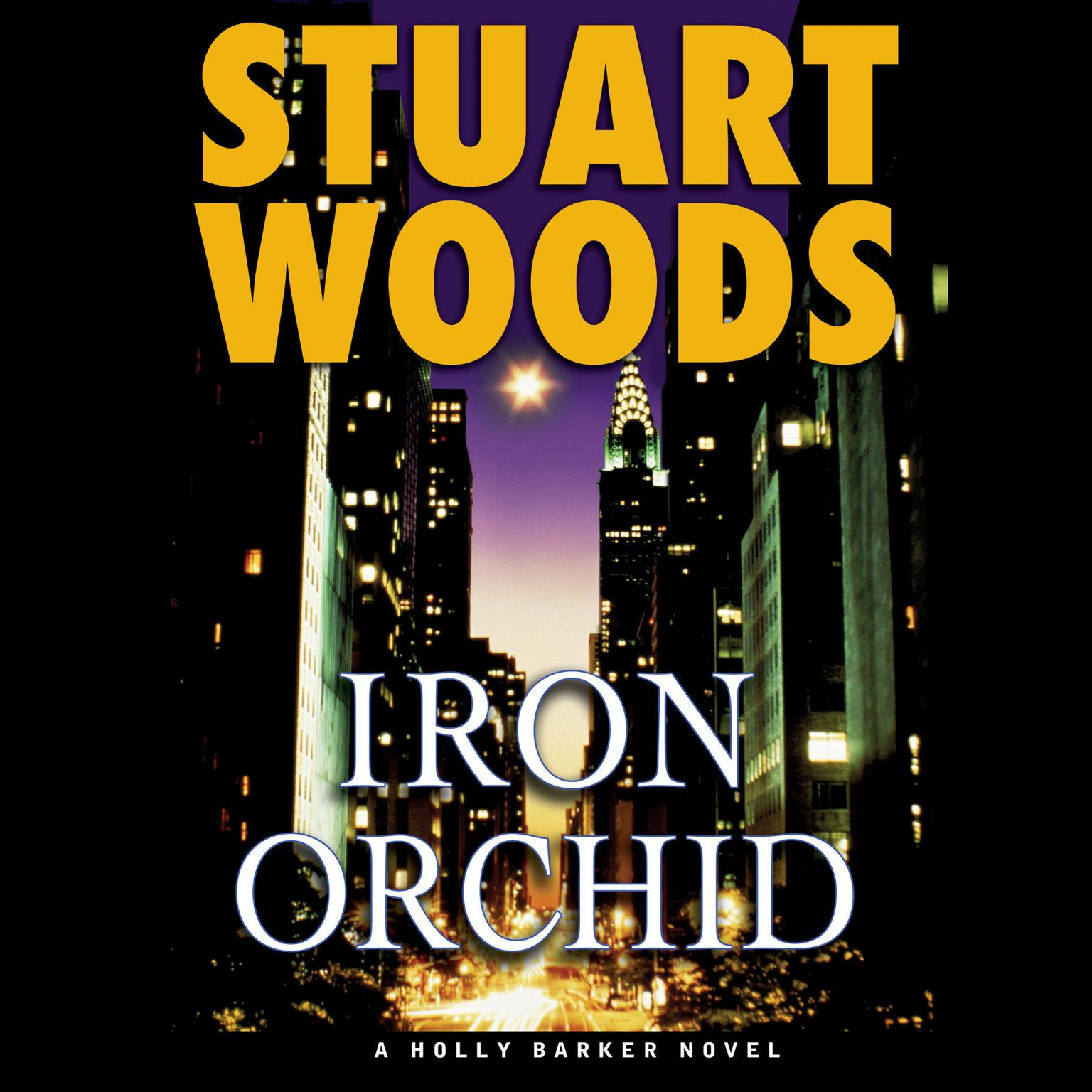 Printable Iron Orchid Audiobook Cover Art