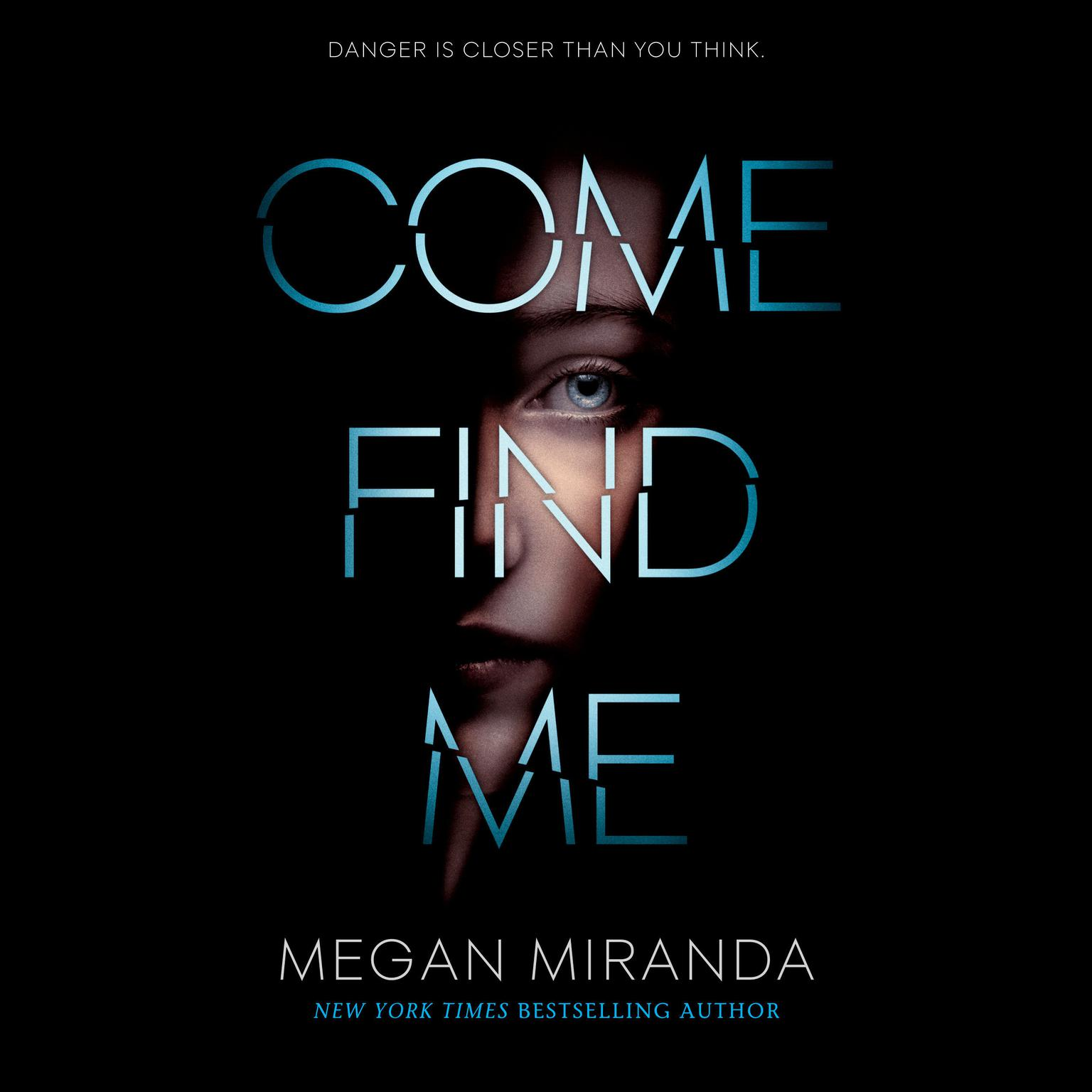 Printable Come Find Me Audiobook Cover Art