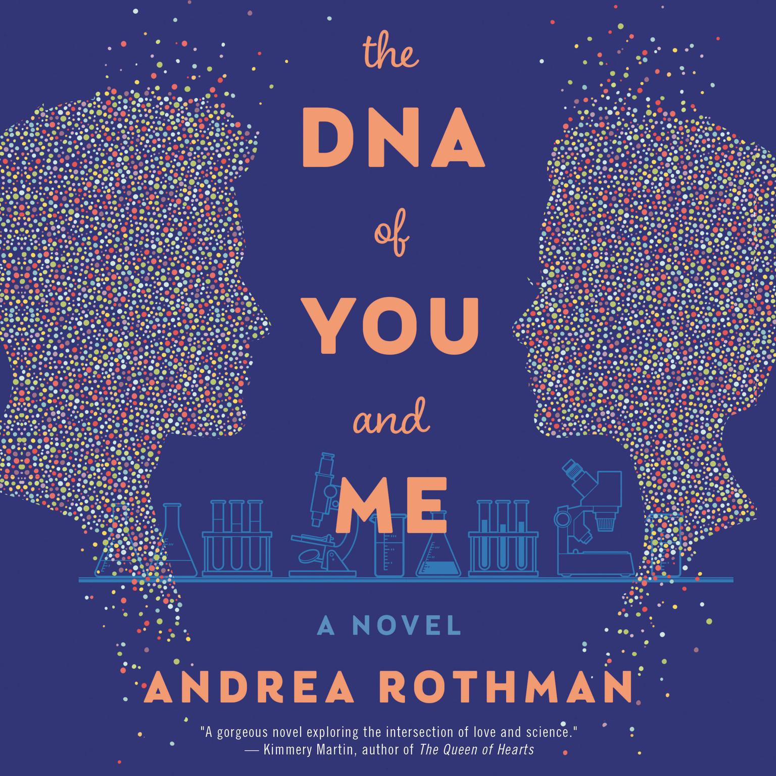 Printable The DNA of You and Me: A Novel Audiobook Cover Art