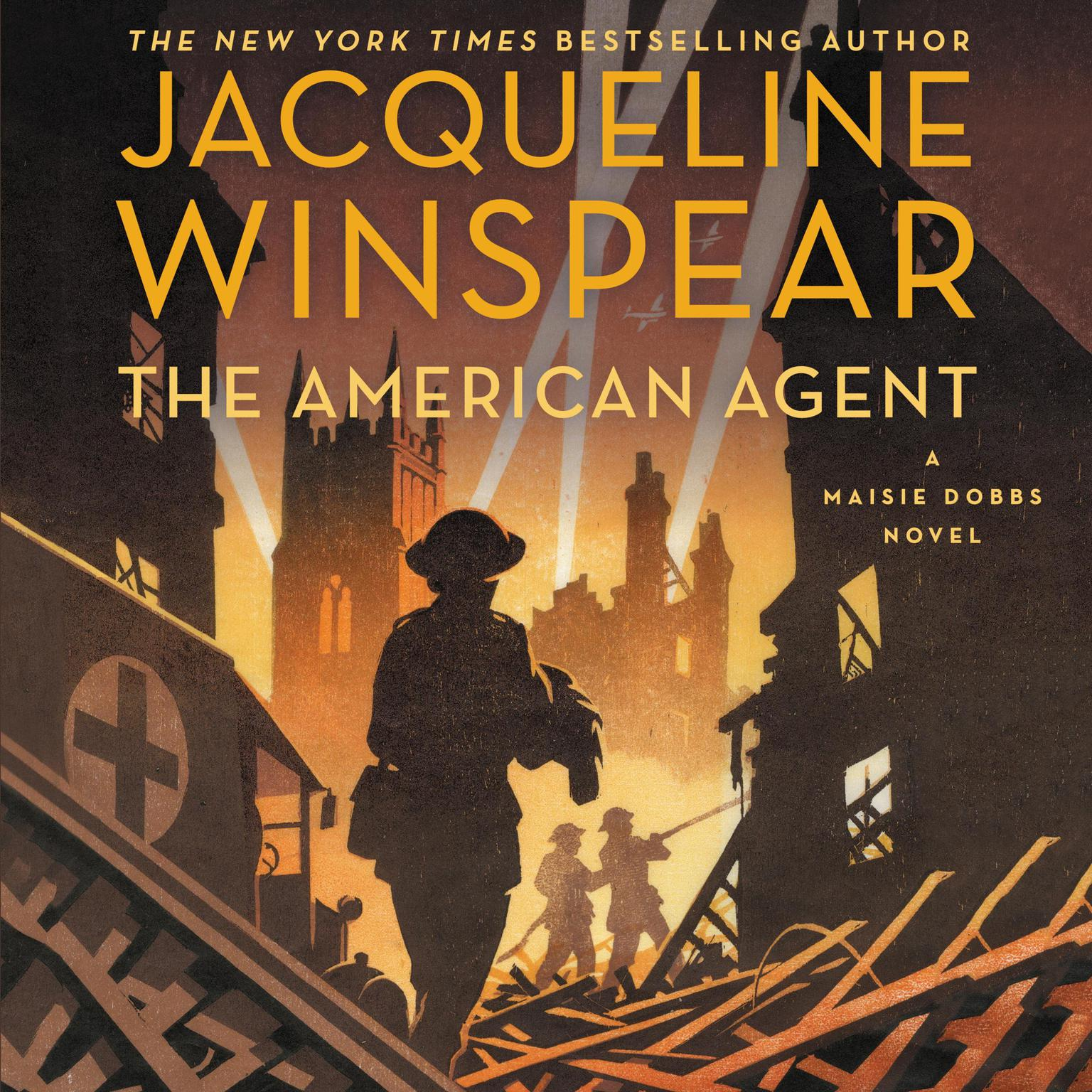 Printable The American Agent: A Maisie Dobbs Novel Audiobook Cover Art