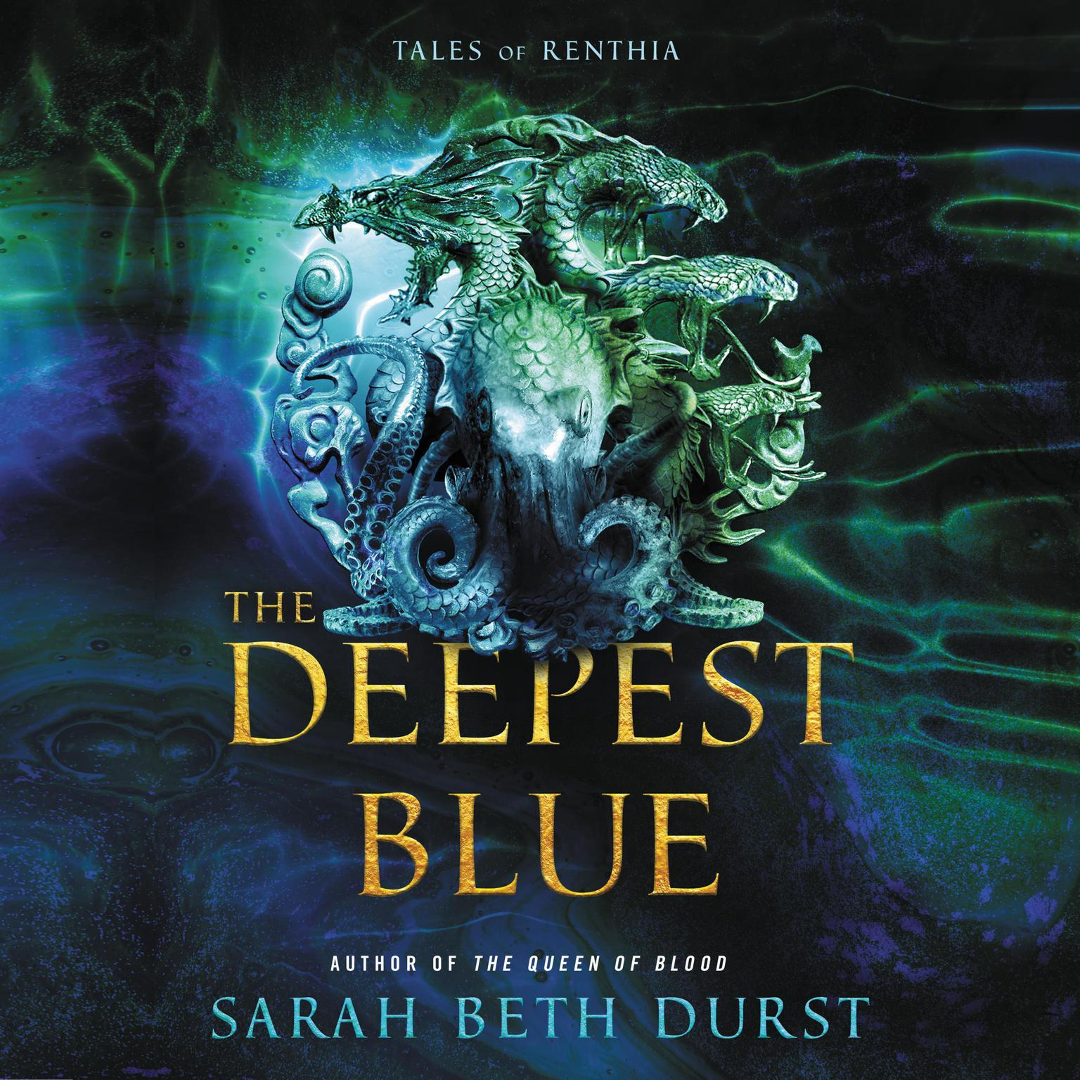 Printable The Deepest Blue: Tales of Renthia Audiobook Cover Art