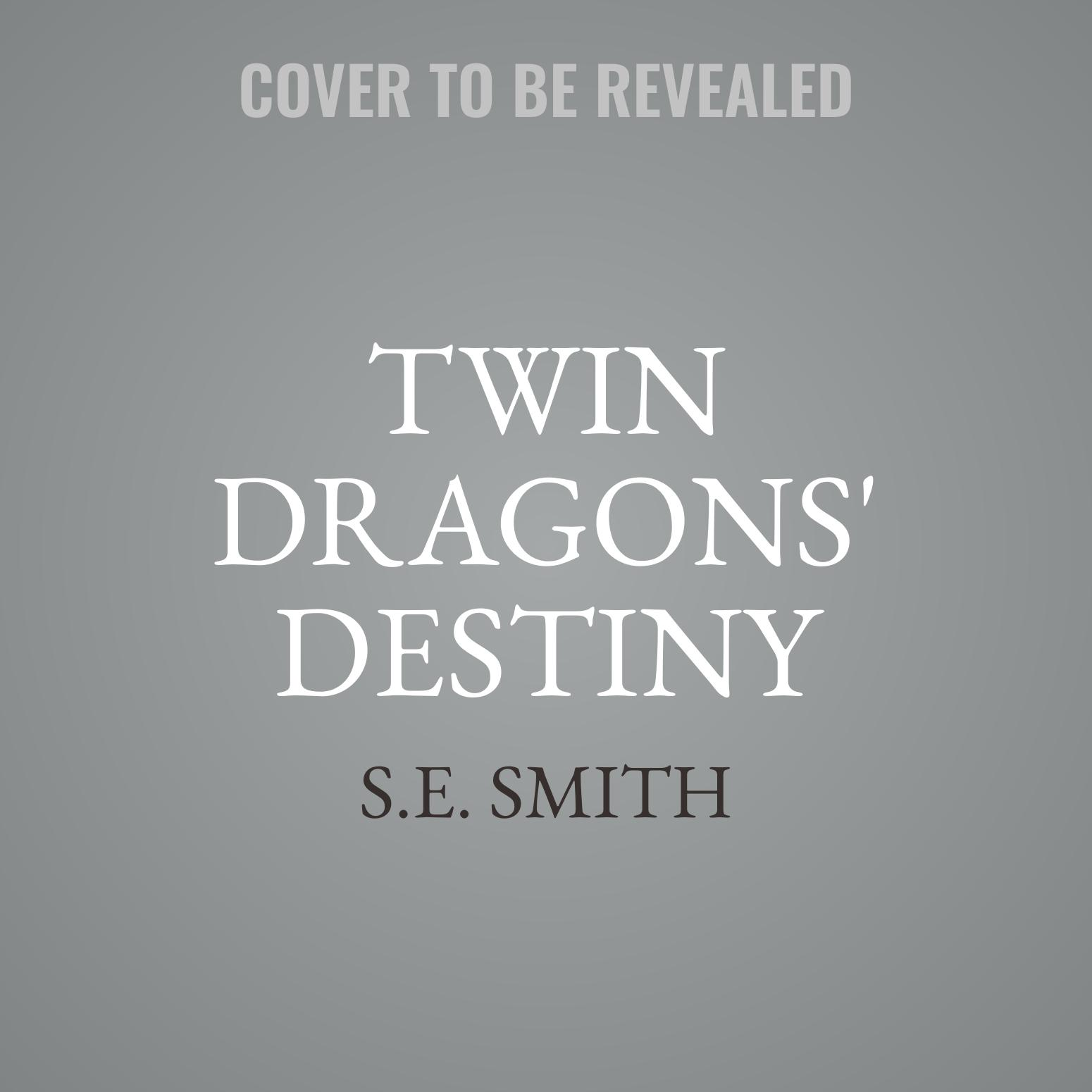 Printable Twin Dragons' Destiny Audiobook Cover Art