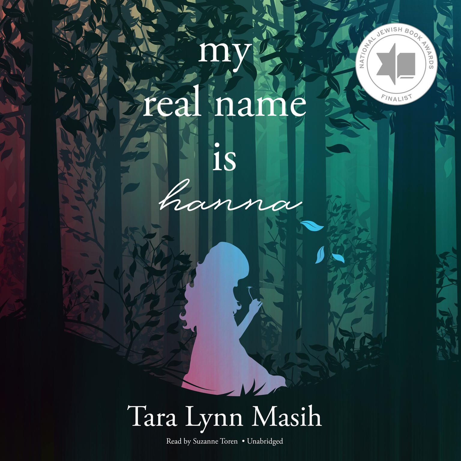 Printable My Real Name Is Hanna Audiobook Cover Art