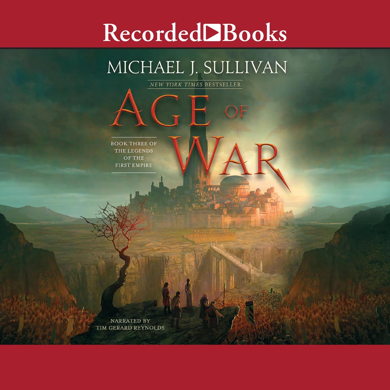 Printable Age of War Audiobook Cover Art