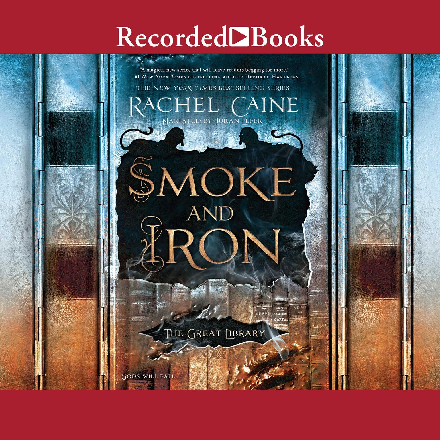 Printable Smoke and Iron (Book 4) Audiobook Cover Art