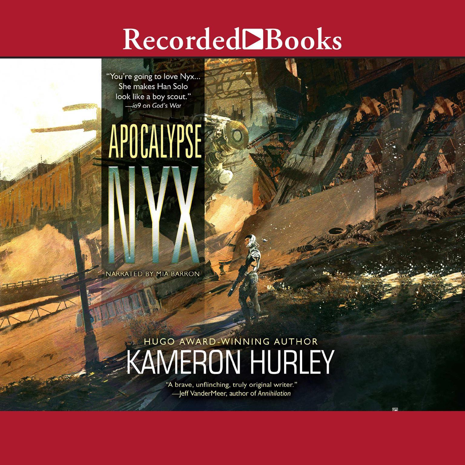 Printable Apocalypse Nyx Audiobook Cover Art