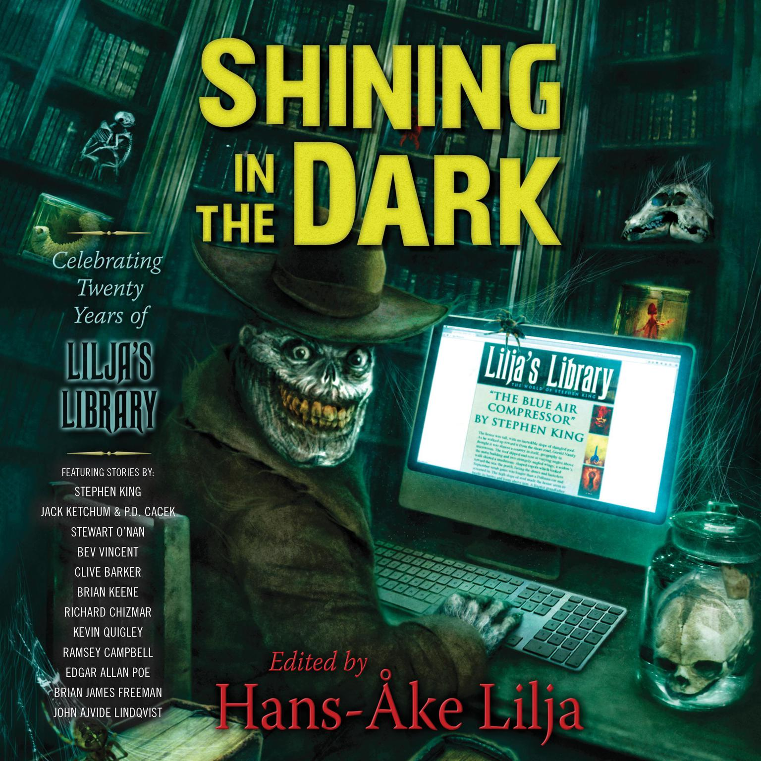 Printable Shining in the Dark: Celebrating 20 Years of Lilja's Library Audiobook Cover Art