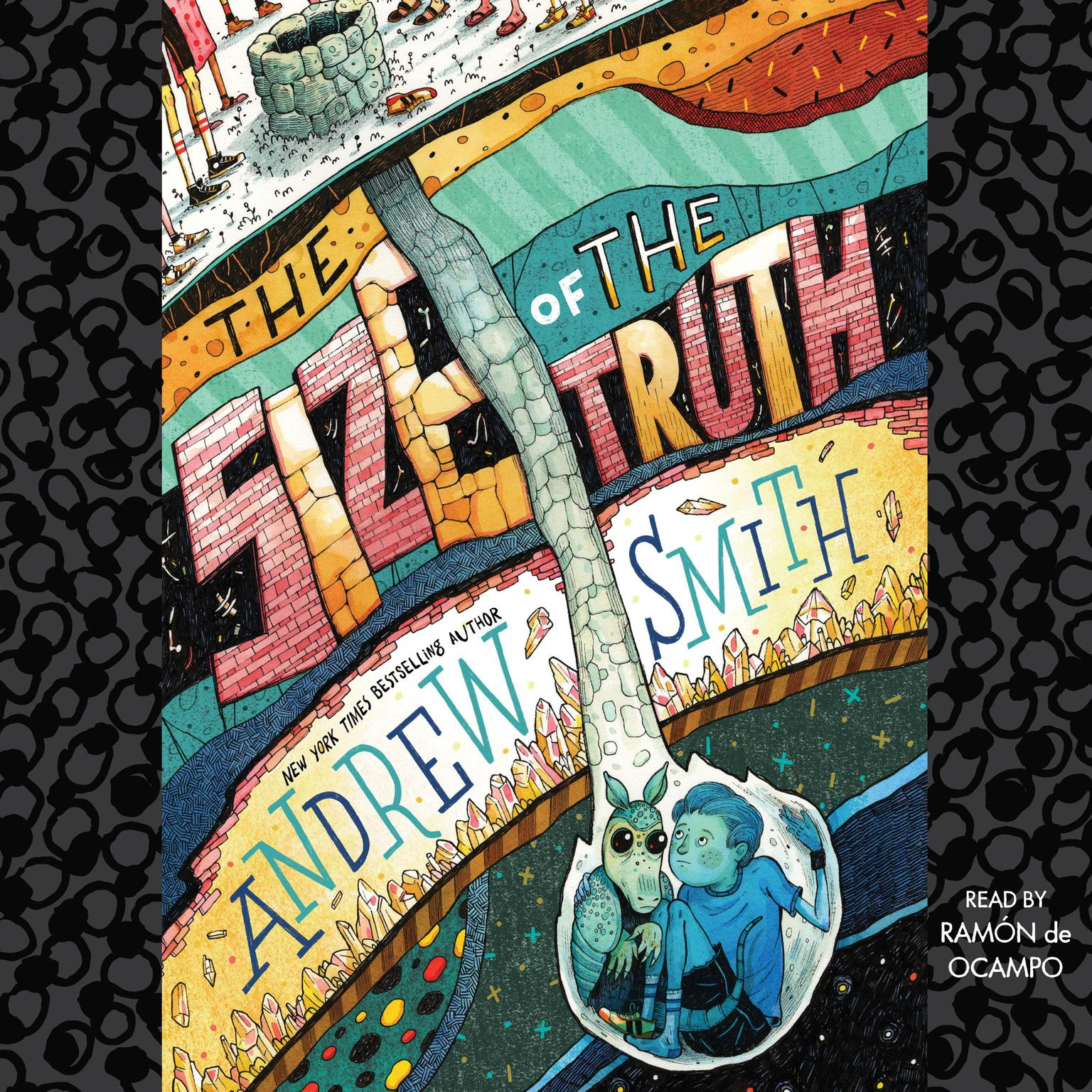 Printable The Size of the Truth Audiobook Cover Art