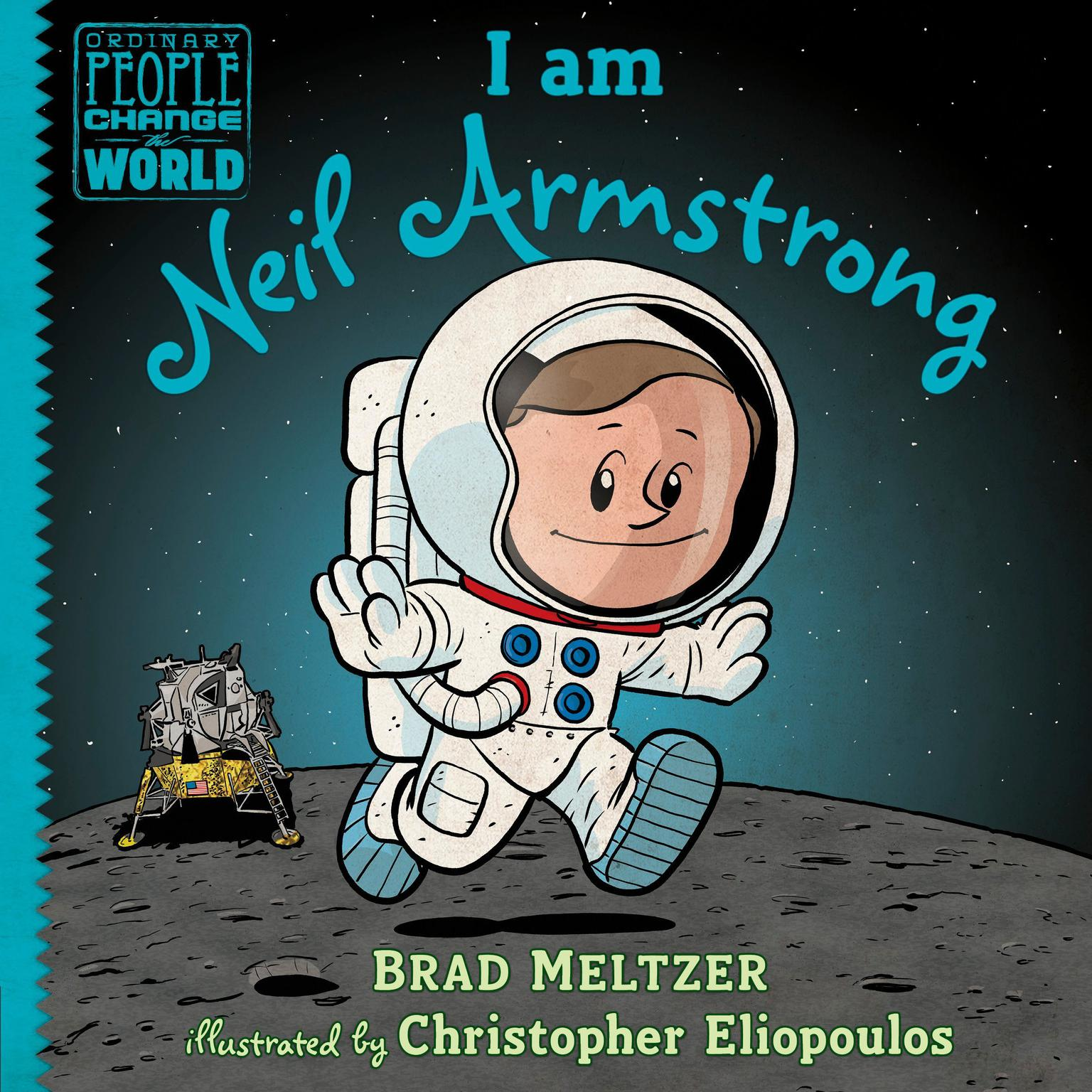 Printable I am Neil Armstrong Audiobook Cover Art
