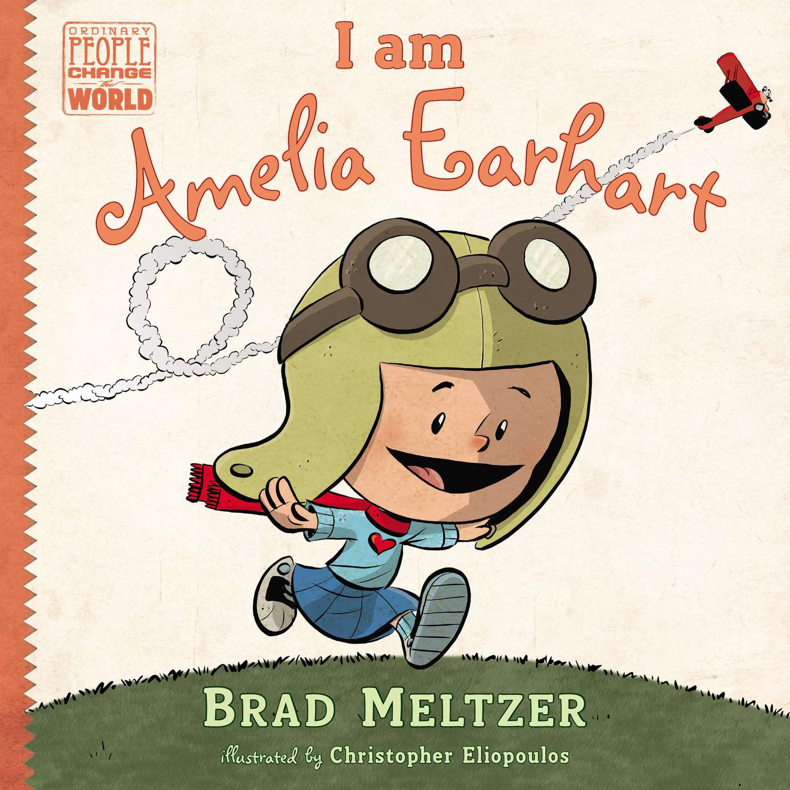 Printable I am Amelia Earhart Audiobook Cover Art