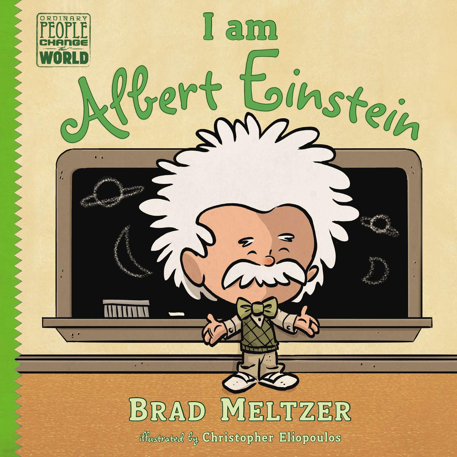 Printable I am Albert Einstein Audiobook Cover Art