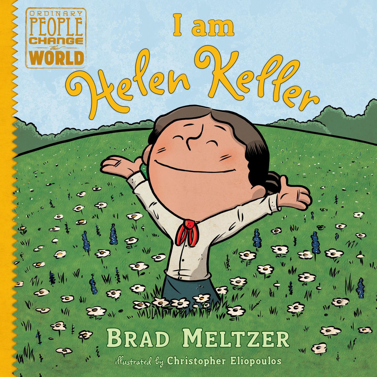 Printable I am Helen Keller Audiobook Cover Art