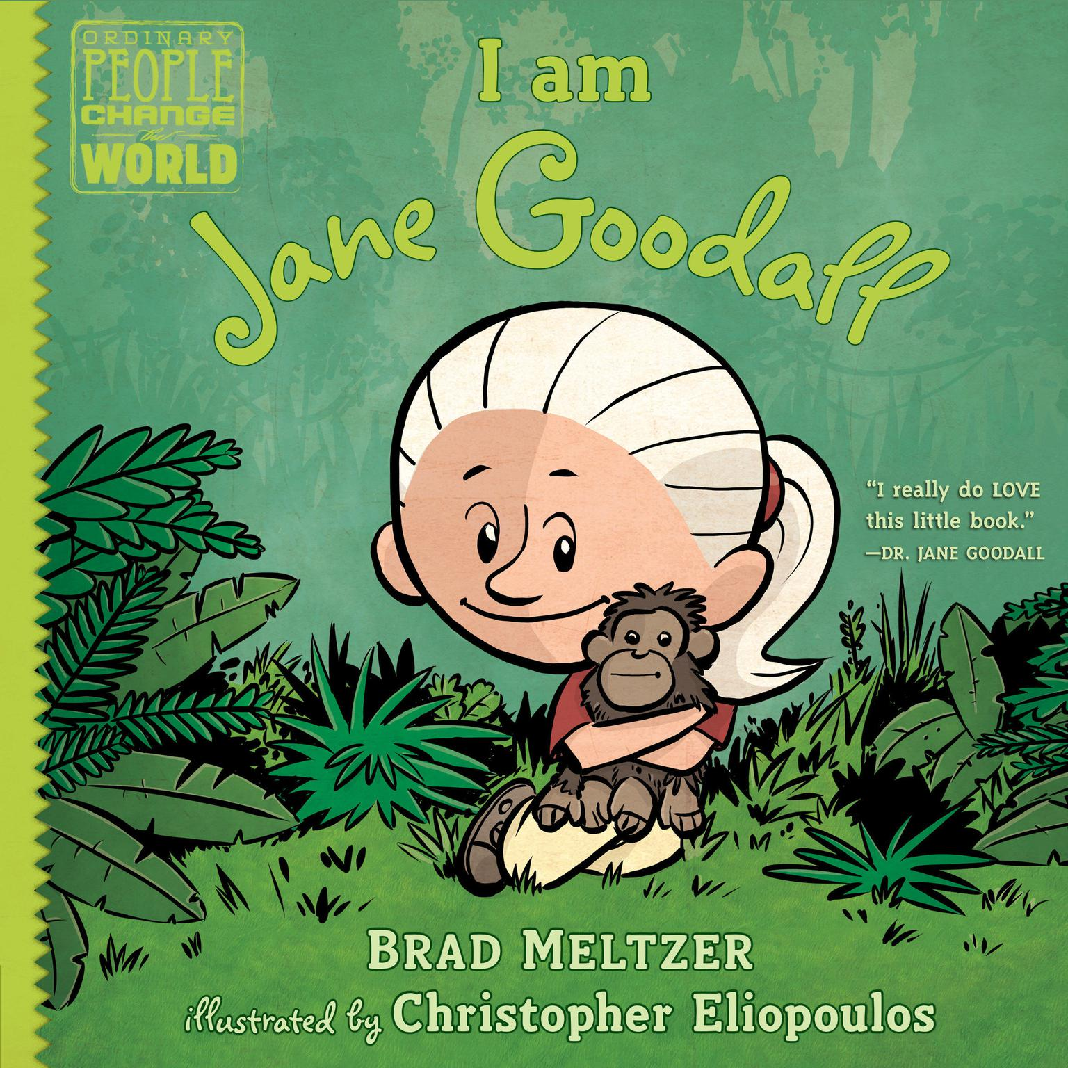 Printable I am Jane Goodall Audiobook Cover Art