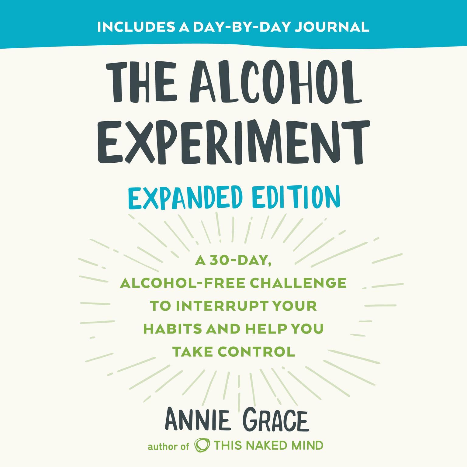 Printable The Alcohol Experiment: A 30-day, Alcohol-Free Challenge to Interrupt Your Habits and Help You Take Control Audiobook Cover Art