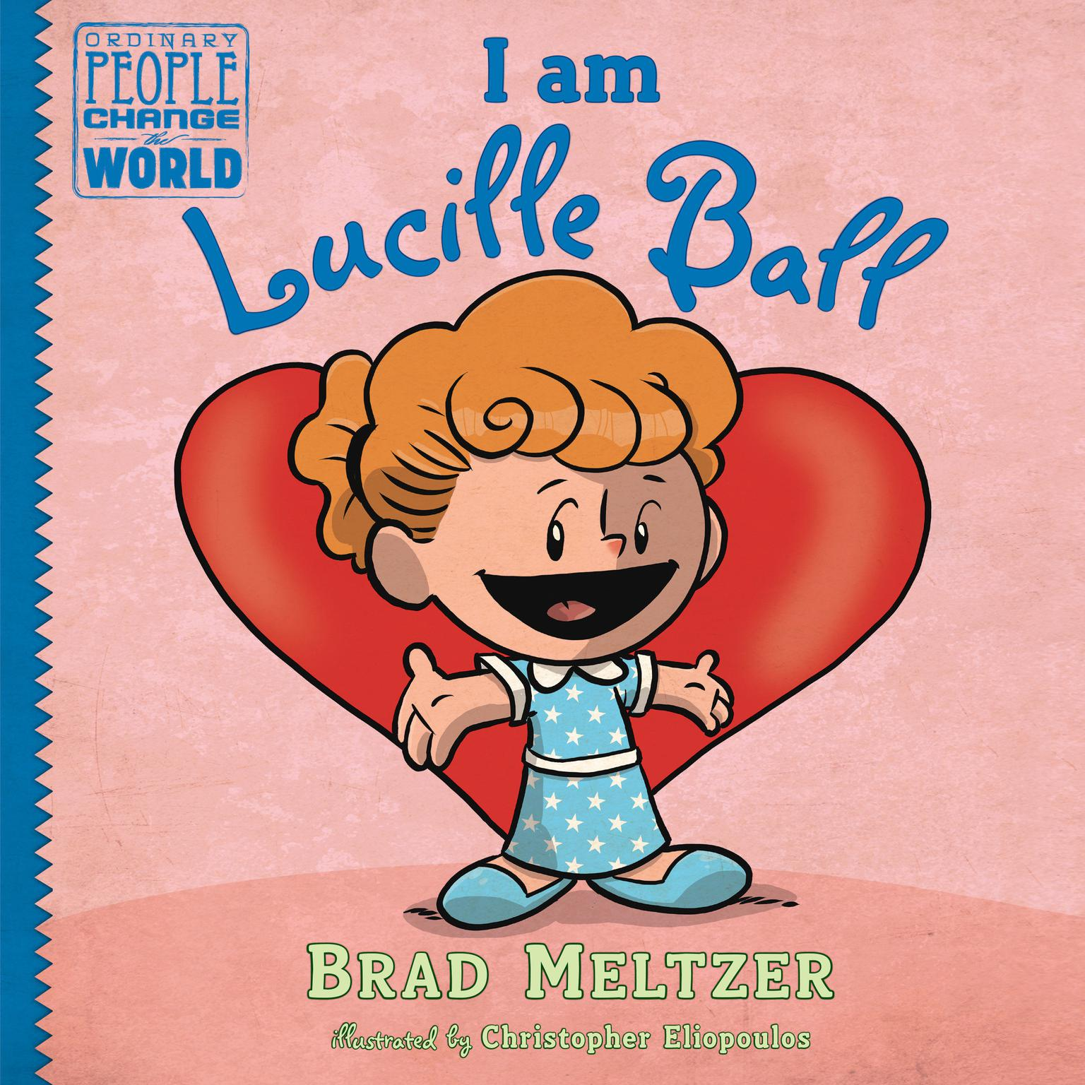 Printable I am Lucille Ball Audiobook Cover Art
