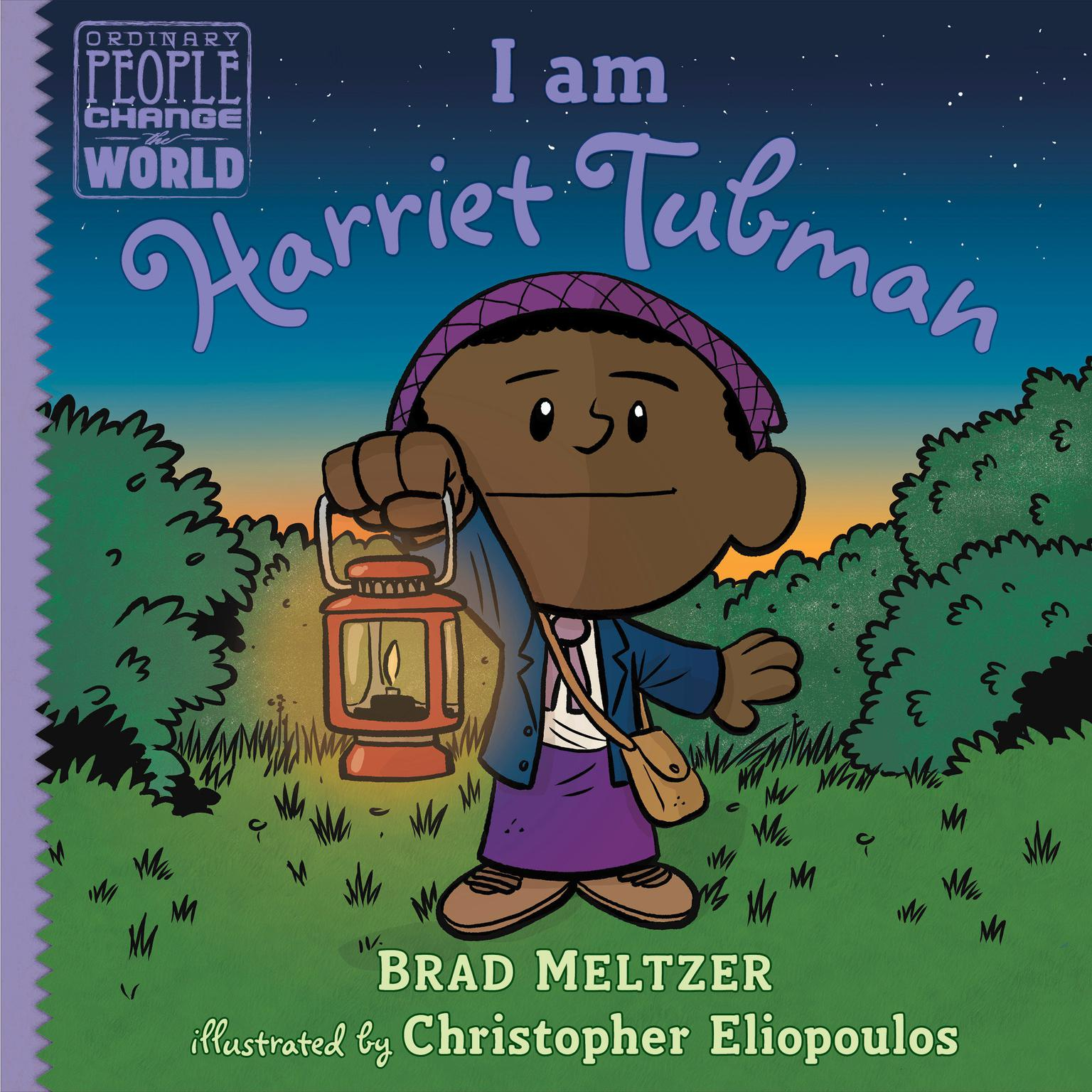 Printable I am Harriet Tubman Audiobook Cover Art