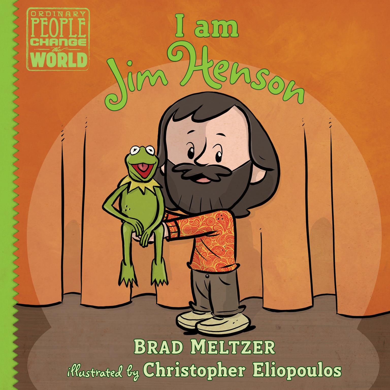 Printable I am Jim Henson Audiobook Cover Art