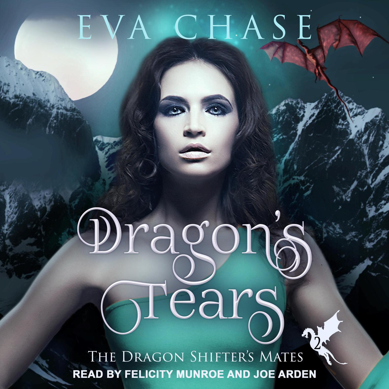 Printable Dragon's Tears: A Reverse Harem Paranormal Romance Audiobook Cover Art