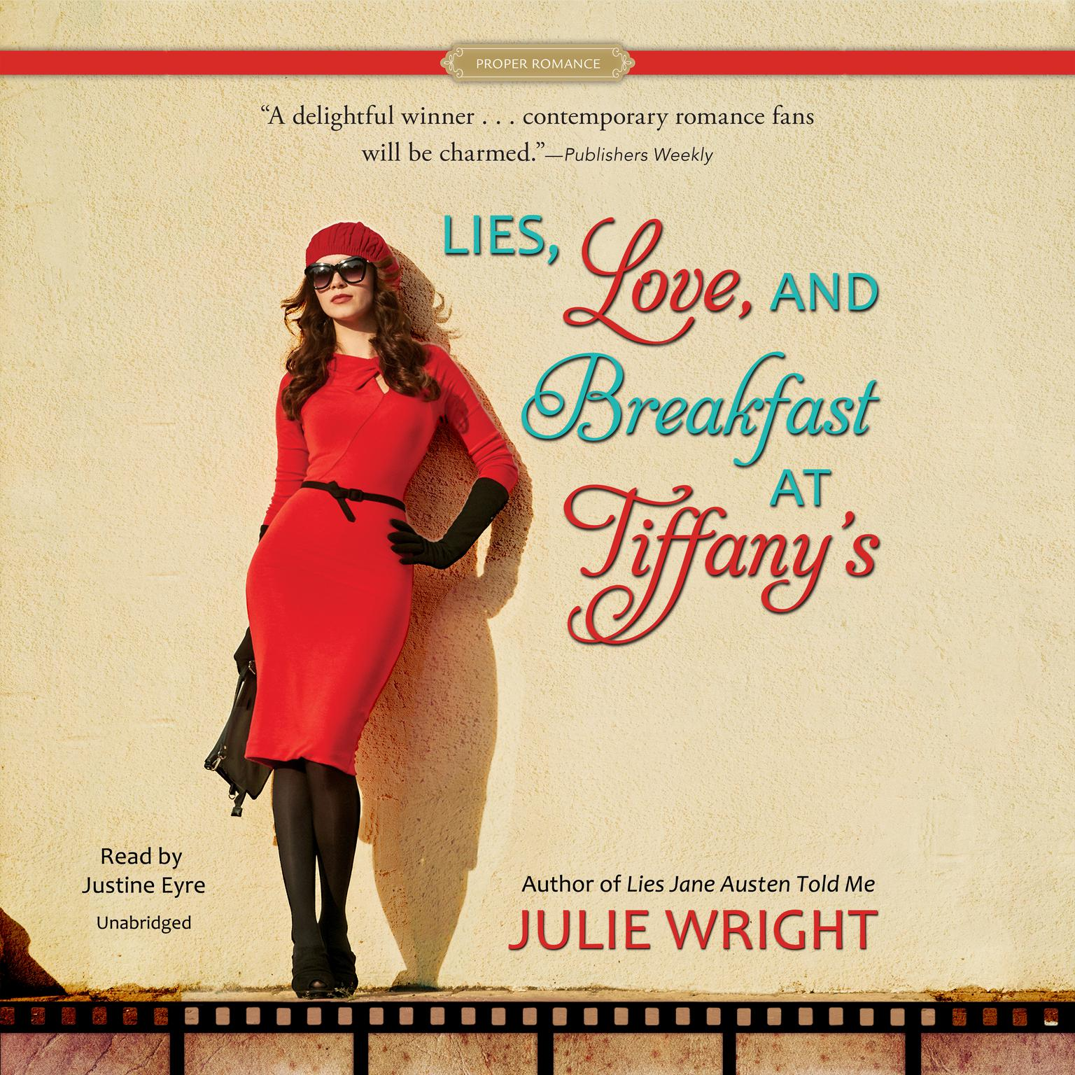 Printable Lies, Love, and Breakfast at Tiffany's Audiobook Cover Art