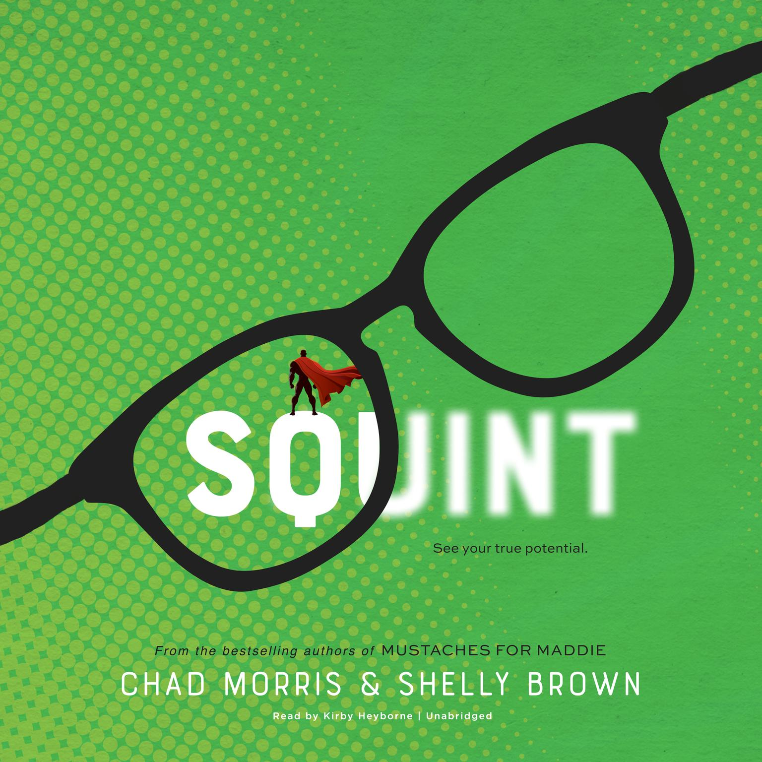 Printable Squint Audiobook Cover Art