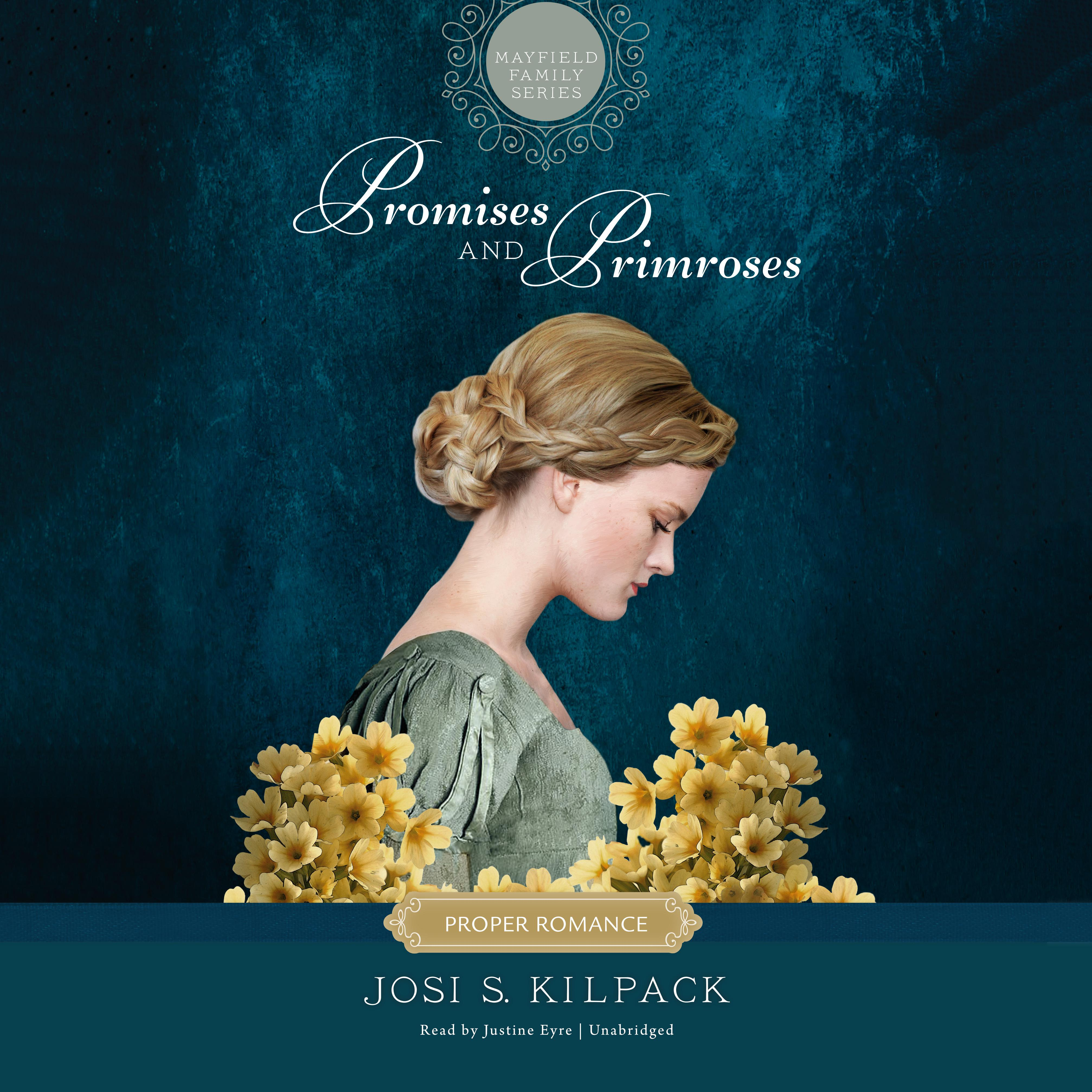 Printable Promises and Primroses Audiobook Cover Art