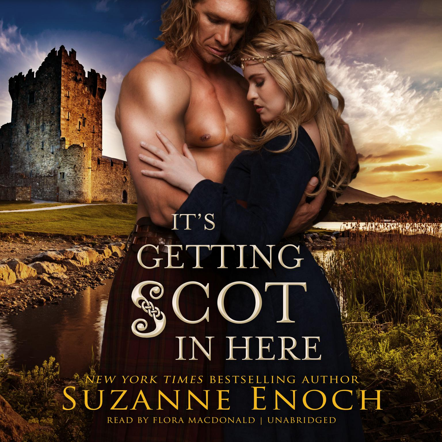 Printable It's Getting Scot in Here Audiobook Cover Art