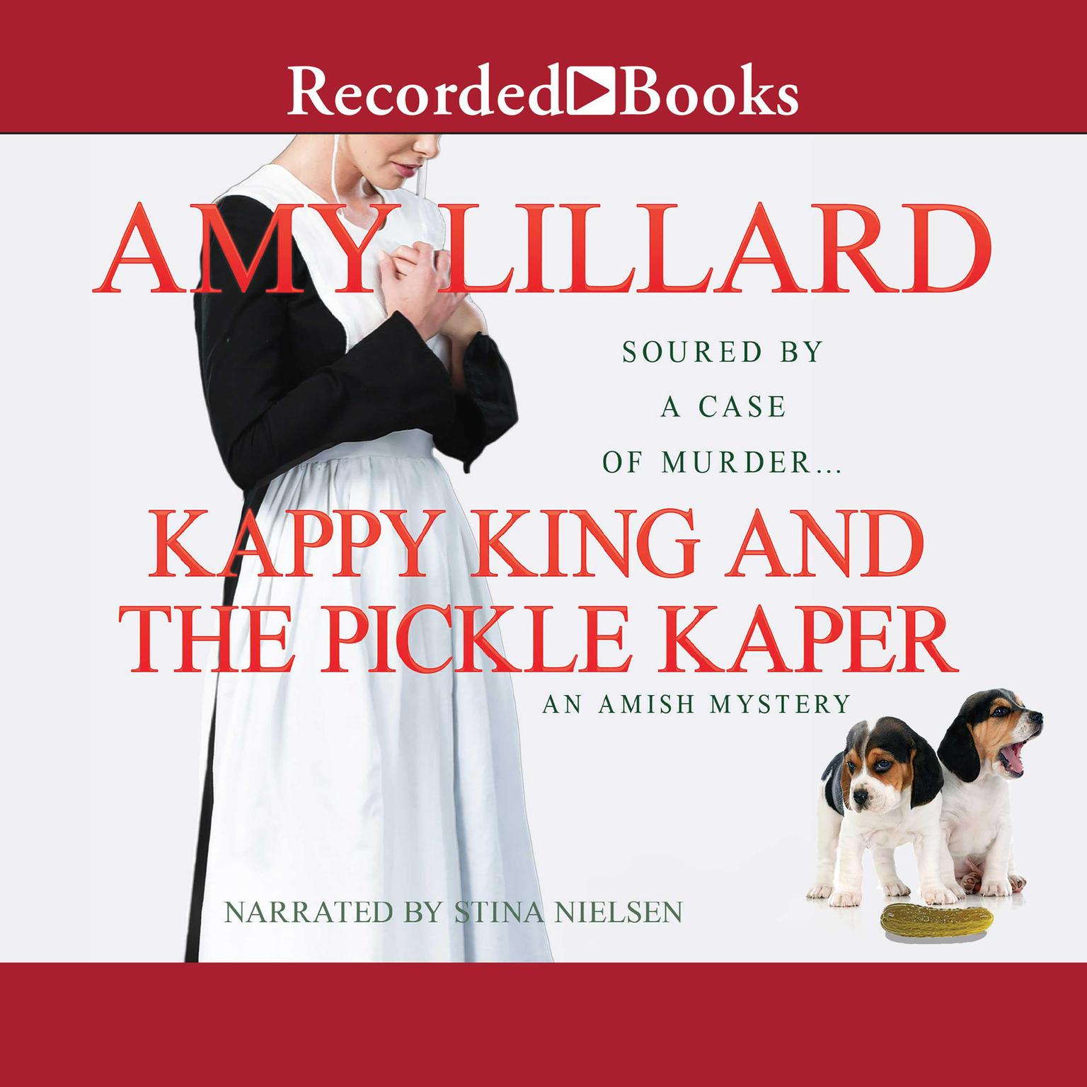 Printable Kappy King and the Pickle Kaper Audiobook Cover Art