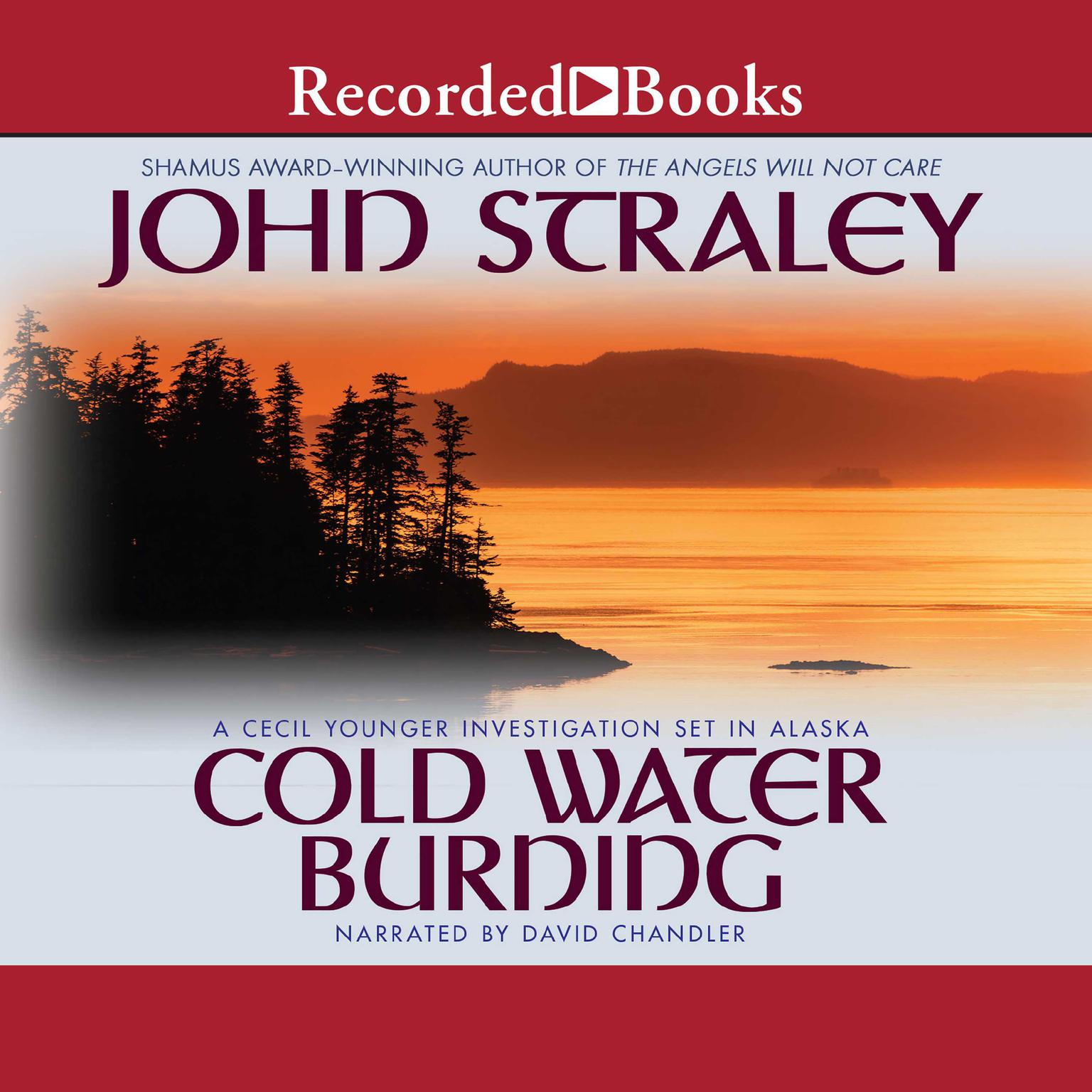 Printable Cold Water Burning Audiobook Cover Art