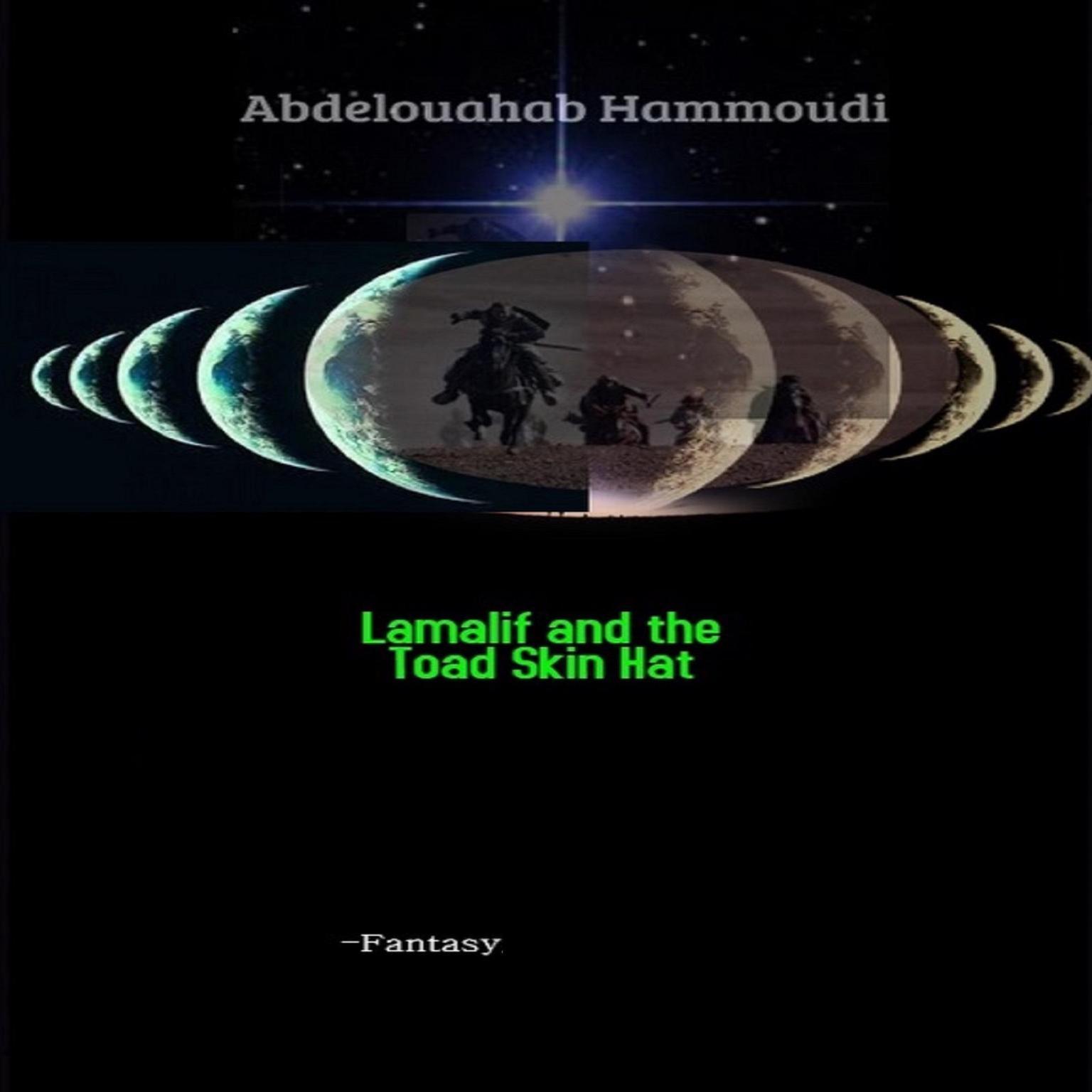 Printable LAMALIF AND THE TOAD SKIN HAT  (Abridged): Setwara Audiobook Cover Art