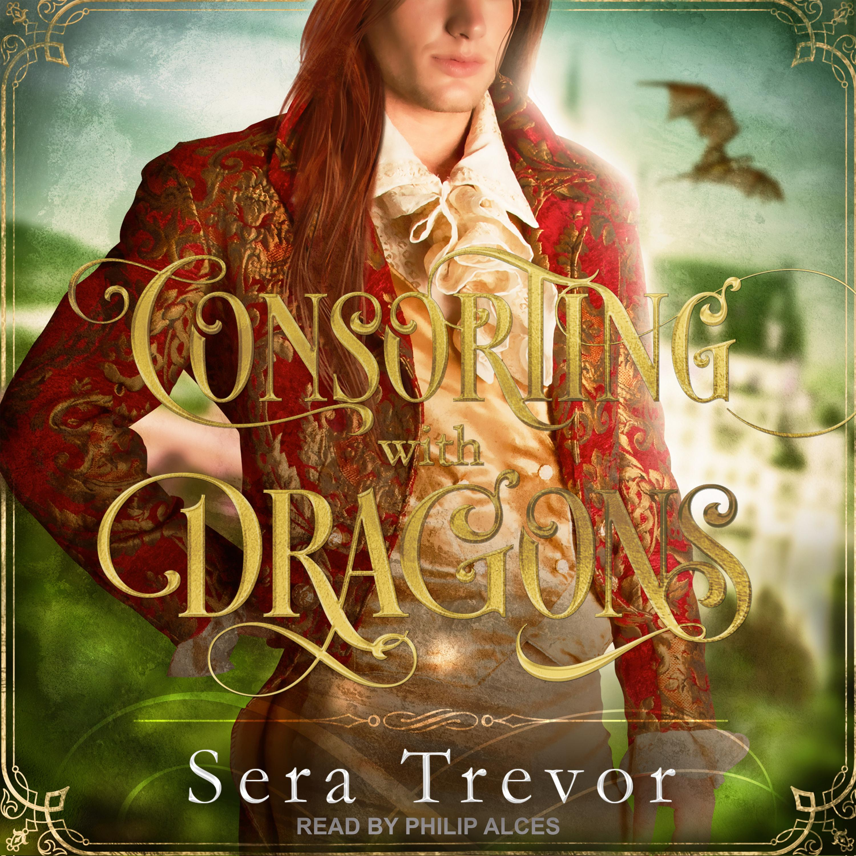 Printable Consorting with Dragons Audiobook Cover Art
