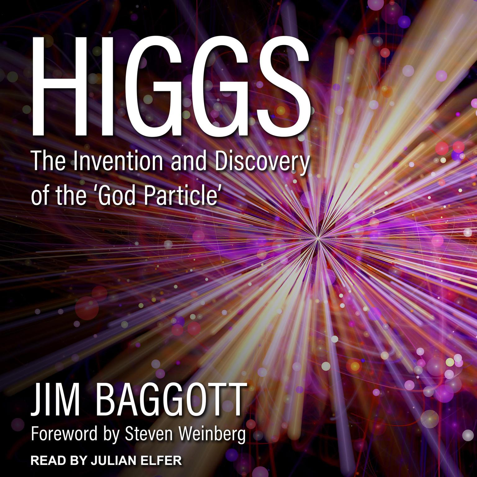 Printable Higgs: The Invention and Discovery of the 'God Particle' Audiobook Cover Art