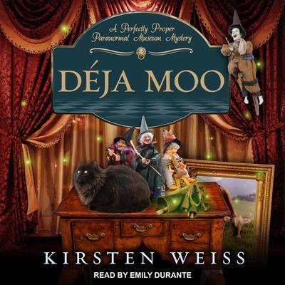 Déja Moo Audiobook, by Kirsten Weiss