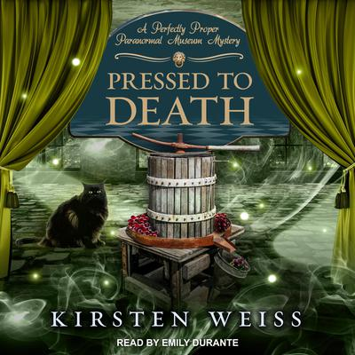 Pressed to Death Audiobook, by Kirsten Weiss