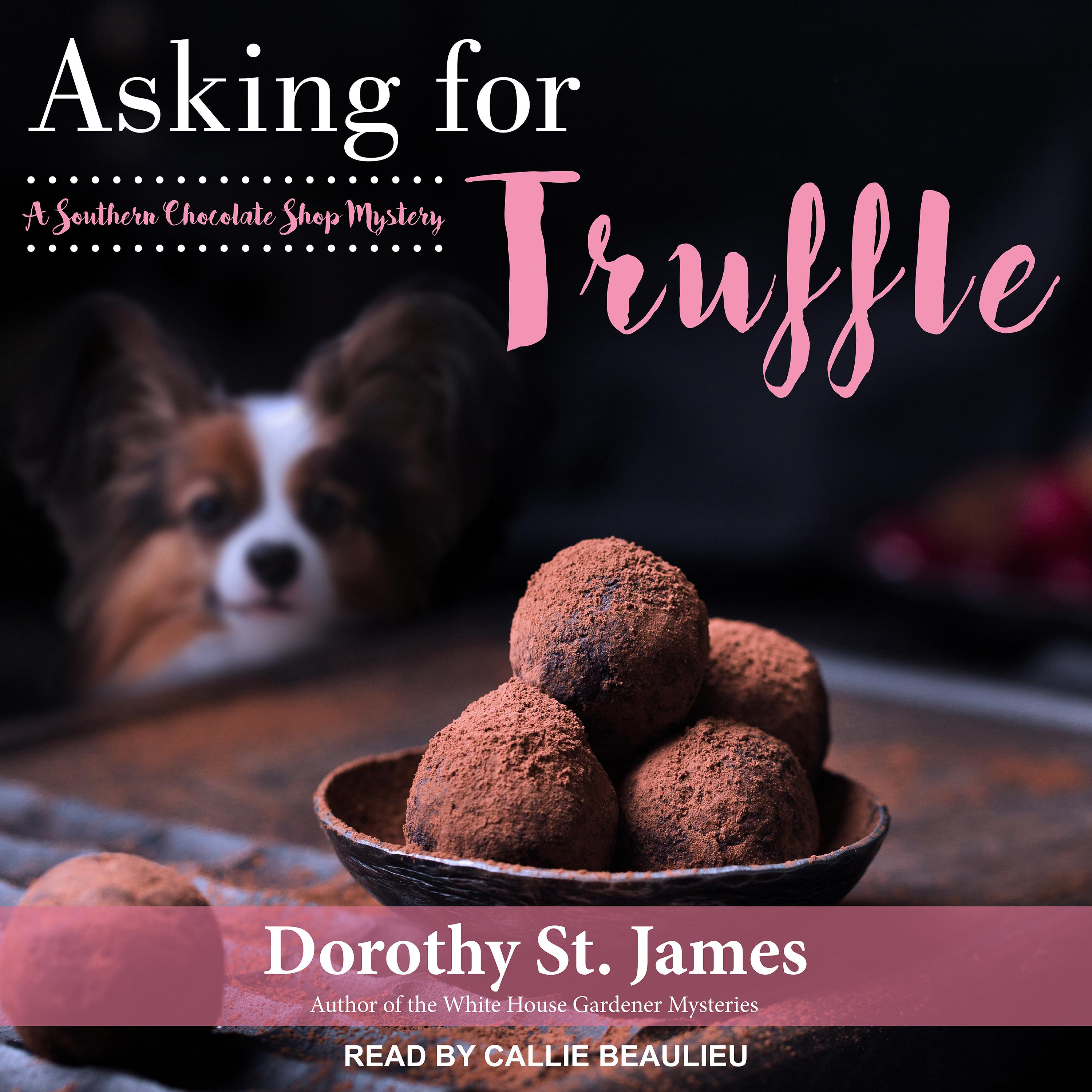 Printable Asking for Truffle Audiobook Cover Art