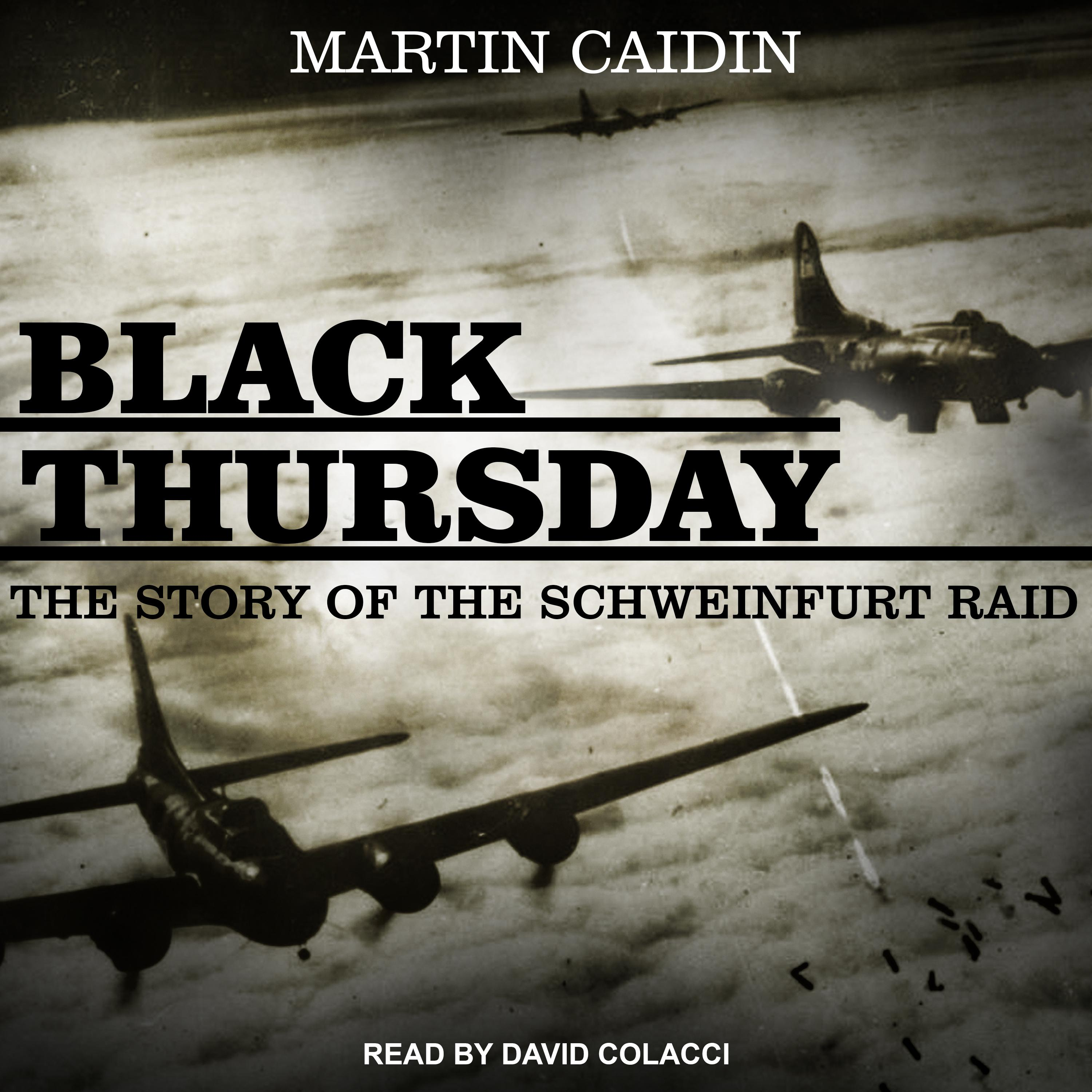 Printable Black Thursday: The Story of the Schweinfurt Raid Audiobook Cover Art