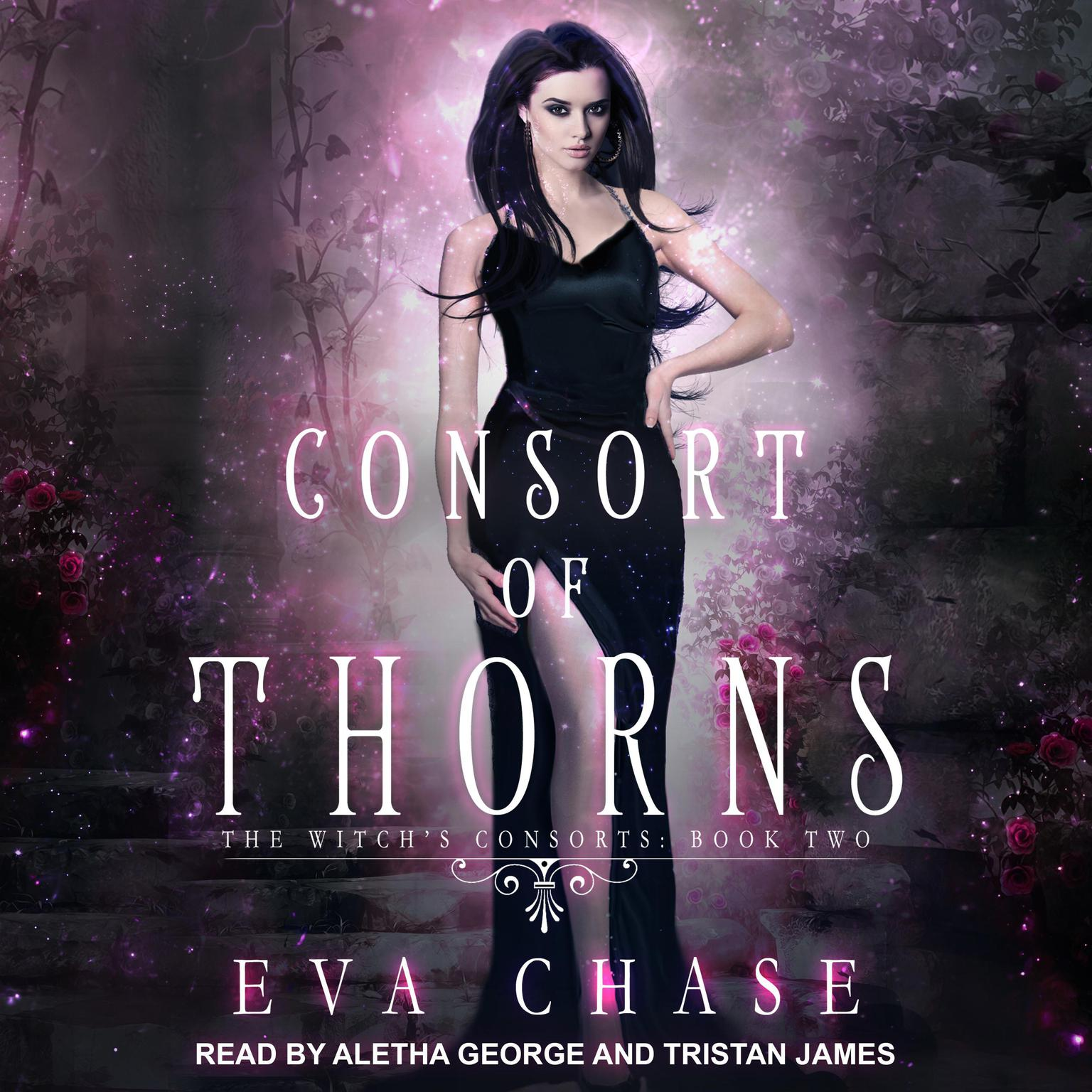 Printable Consort of Thorns: A Paranormal Reverse Harem Novel Audiobook Cover Art